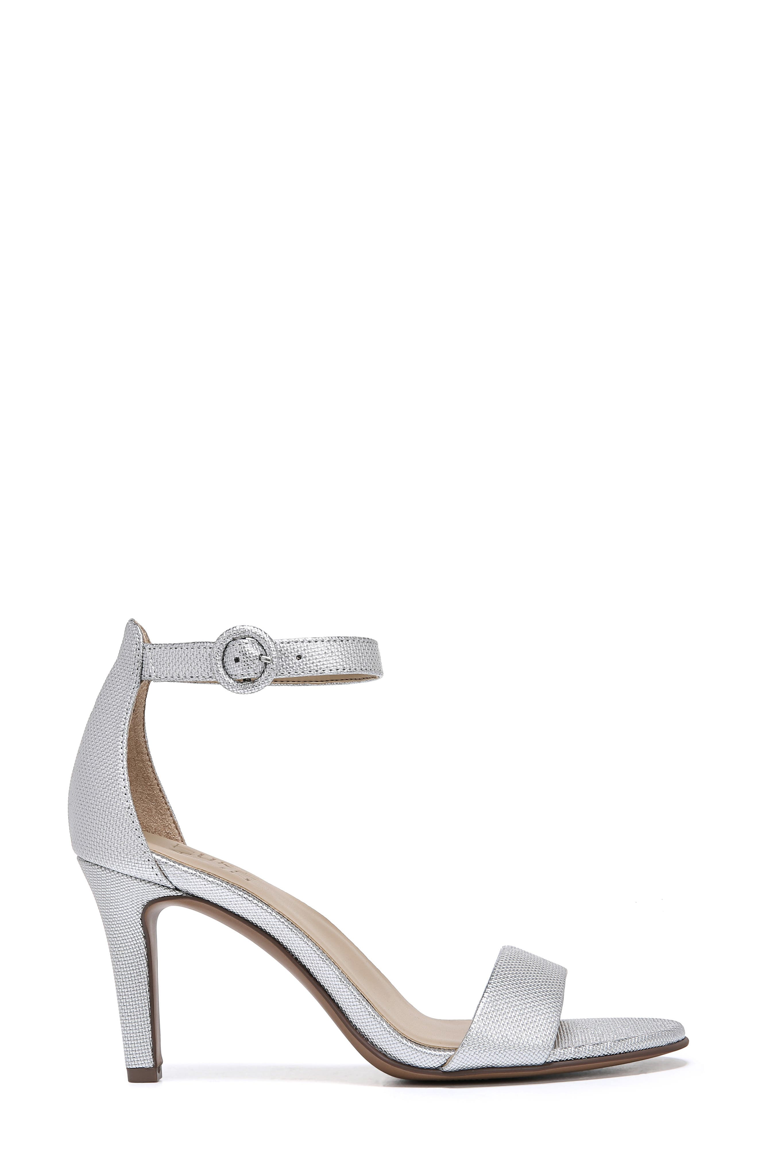 Kinsley Sandal,                             Alternate thumbnail 3, color,                             SILVER