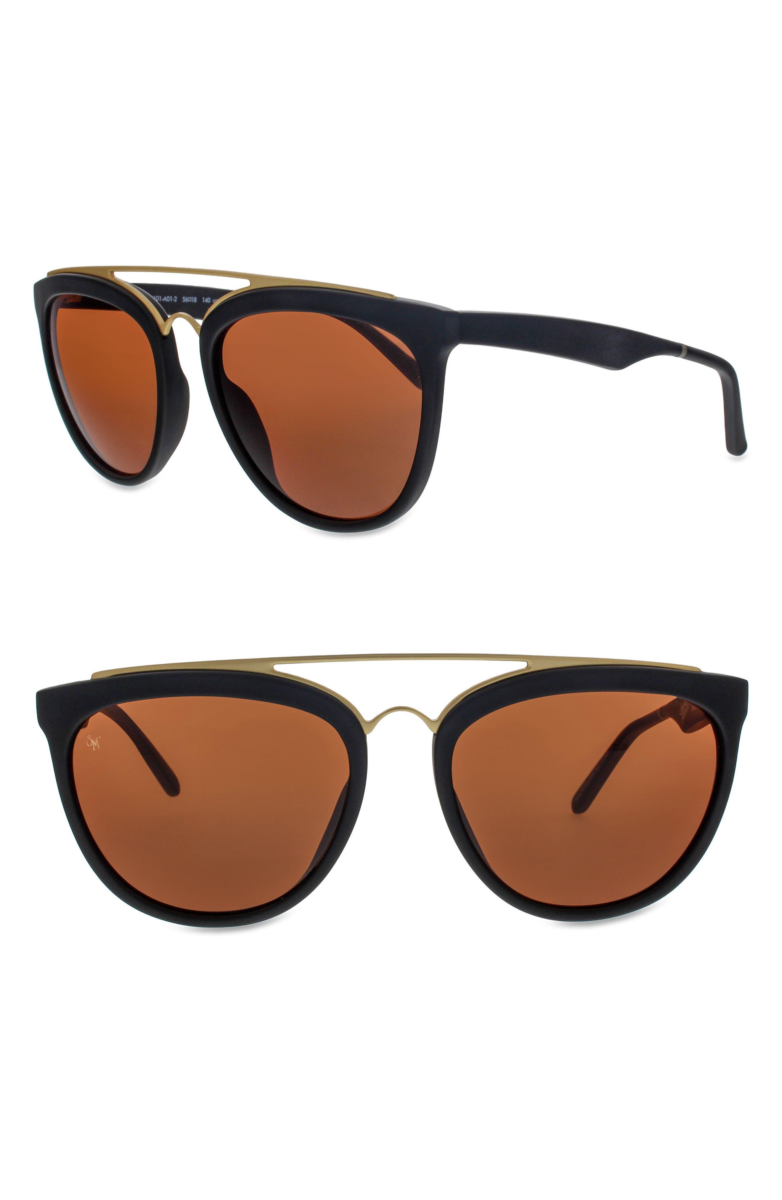 Volunteers 56mm Sunglasses,                             Main thumbnail 1, color,