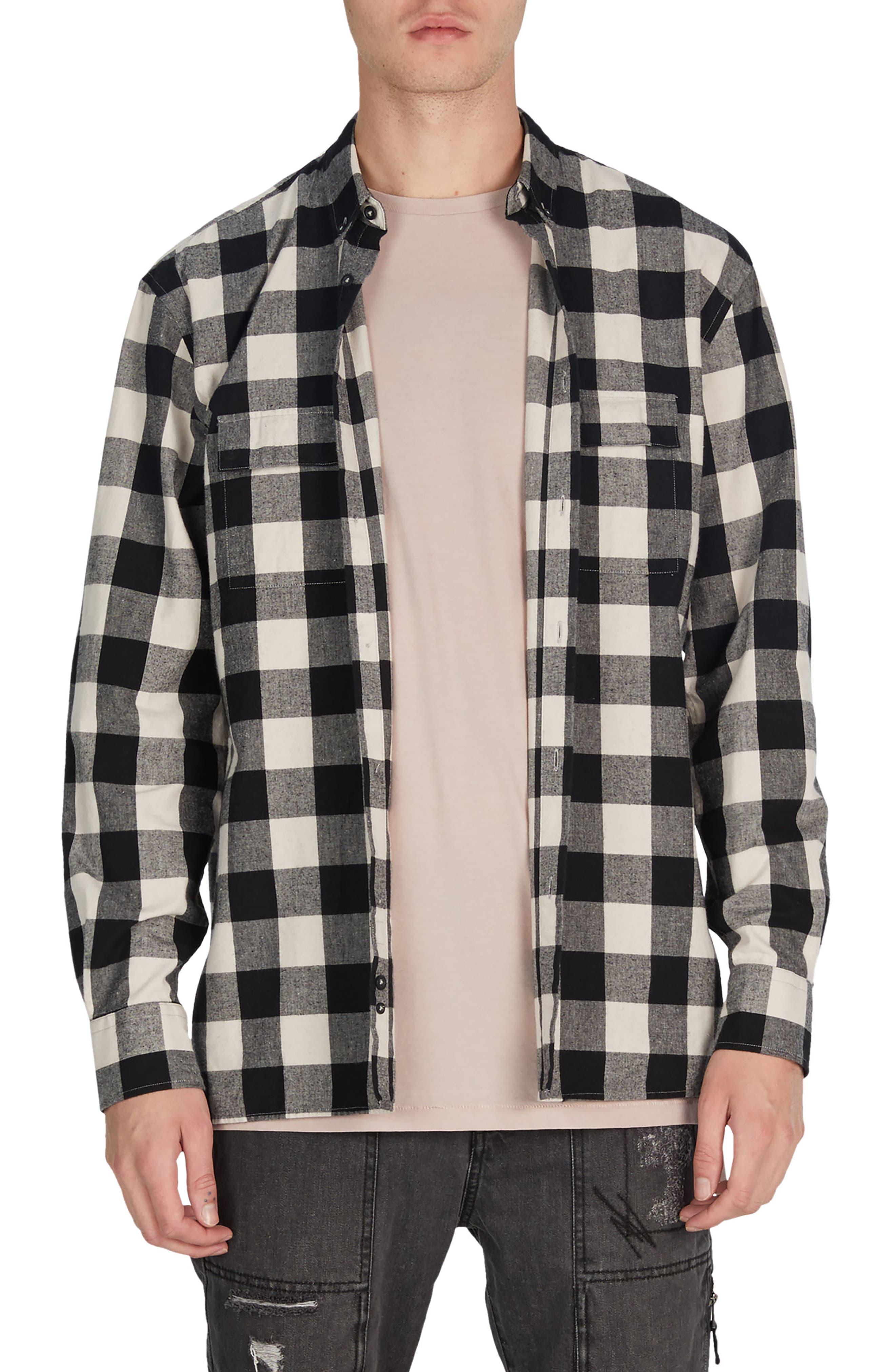 Flannel Box Shirt,                             Main thumbnail 1, color,