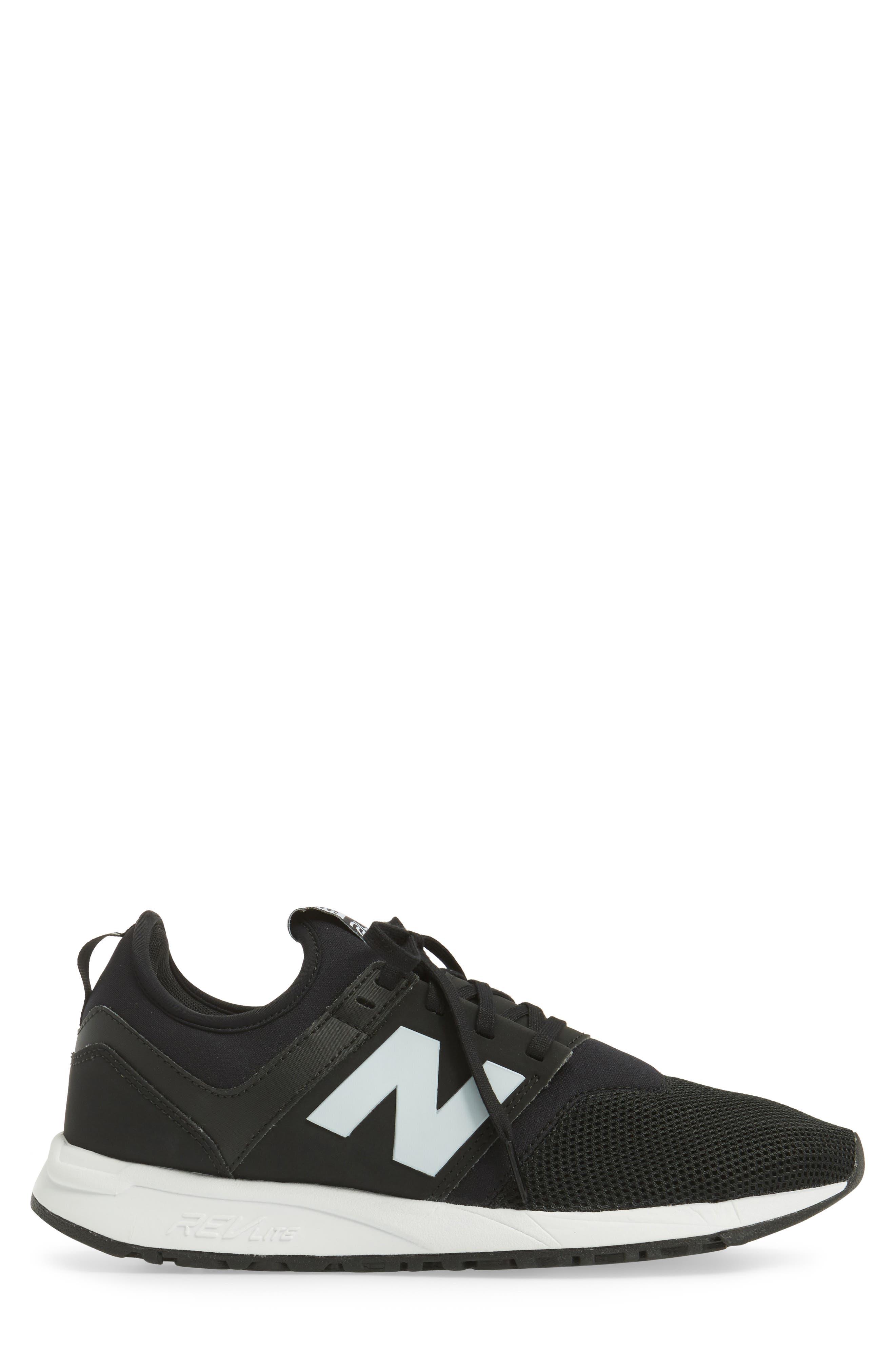 247 Modern Classic Sneaker,                             Alternate thumbnail 3, color,                             001