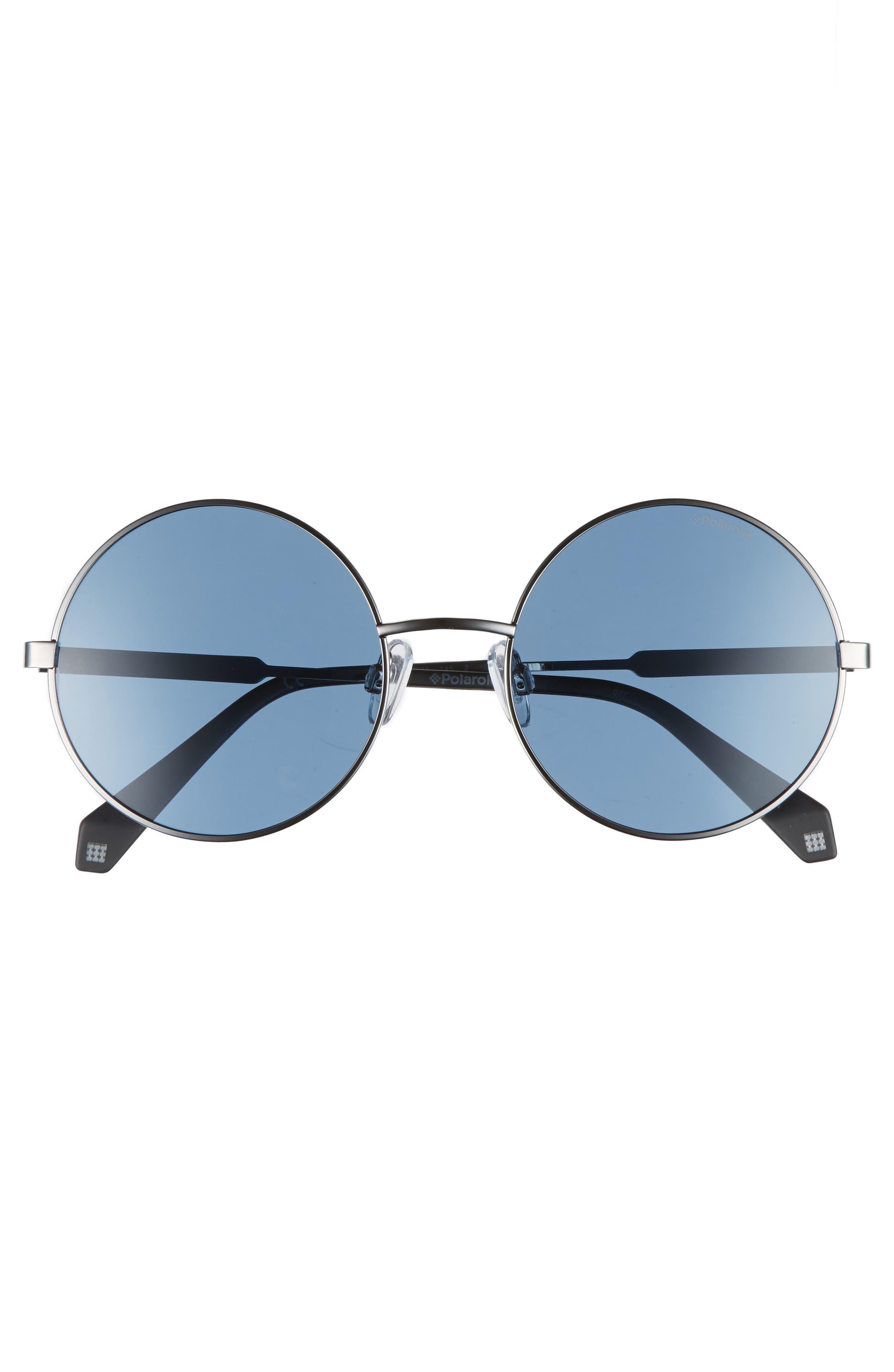 55mm Polarized Round Sunglasses,                             Alternate thumbnail 10, color,