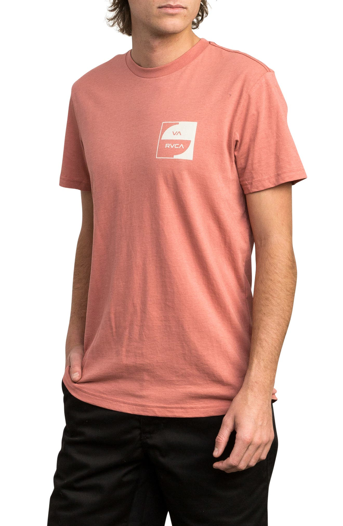 Squircle Graphic T-Shirt,                             Alternate thumbnail 3, color,                             CHAI