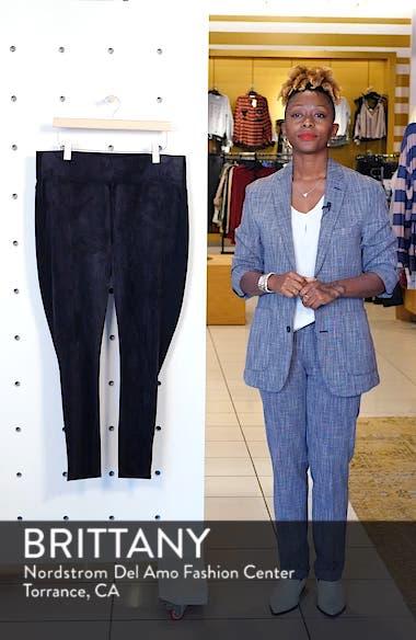 High Rise Pull-On Vegan Leather Pants, sales video thumbnail