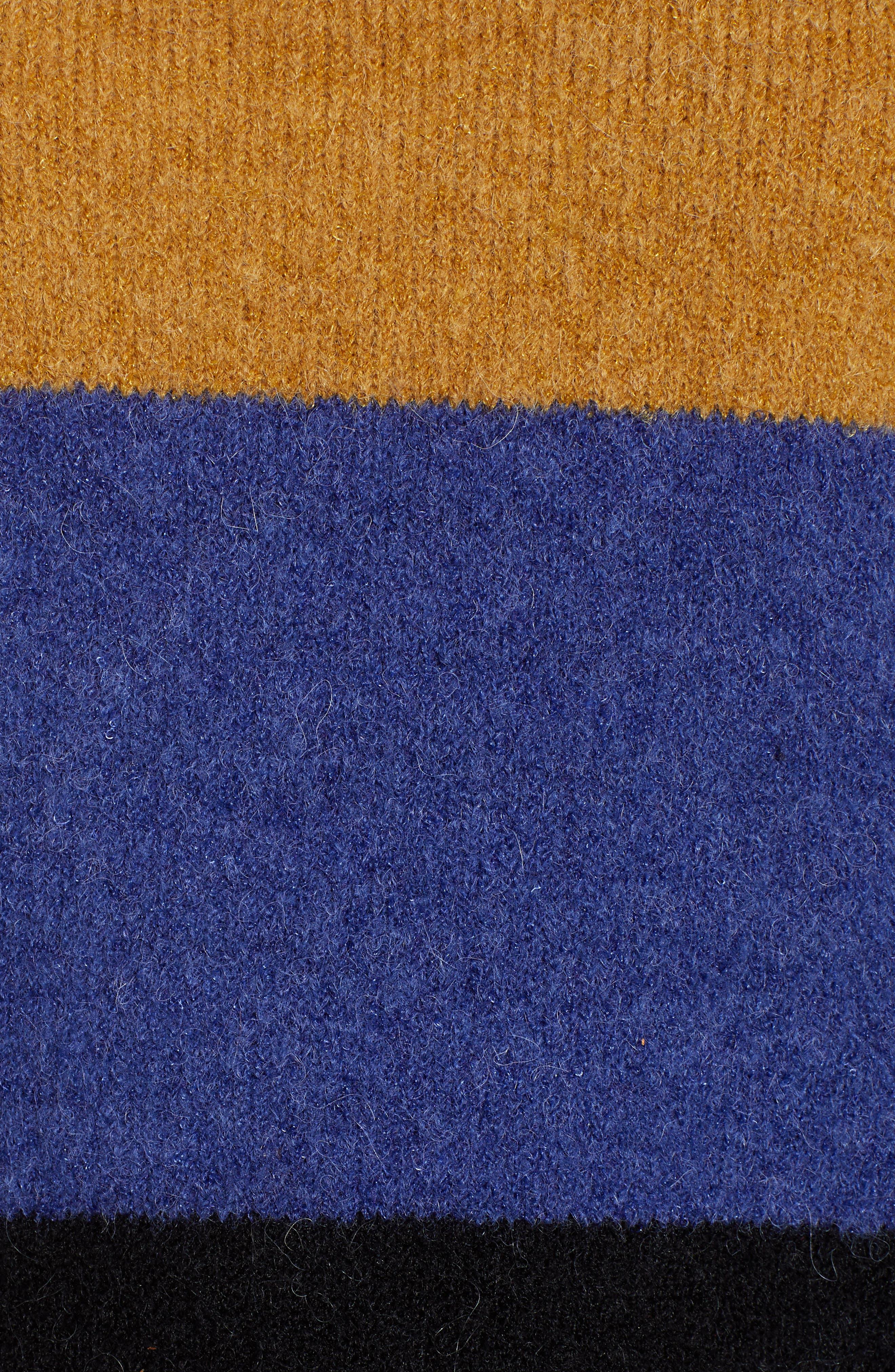 RAILS,                             Sylvie Stripe Sweater,                             Alternate thumbnail 6, color,                             900