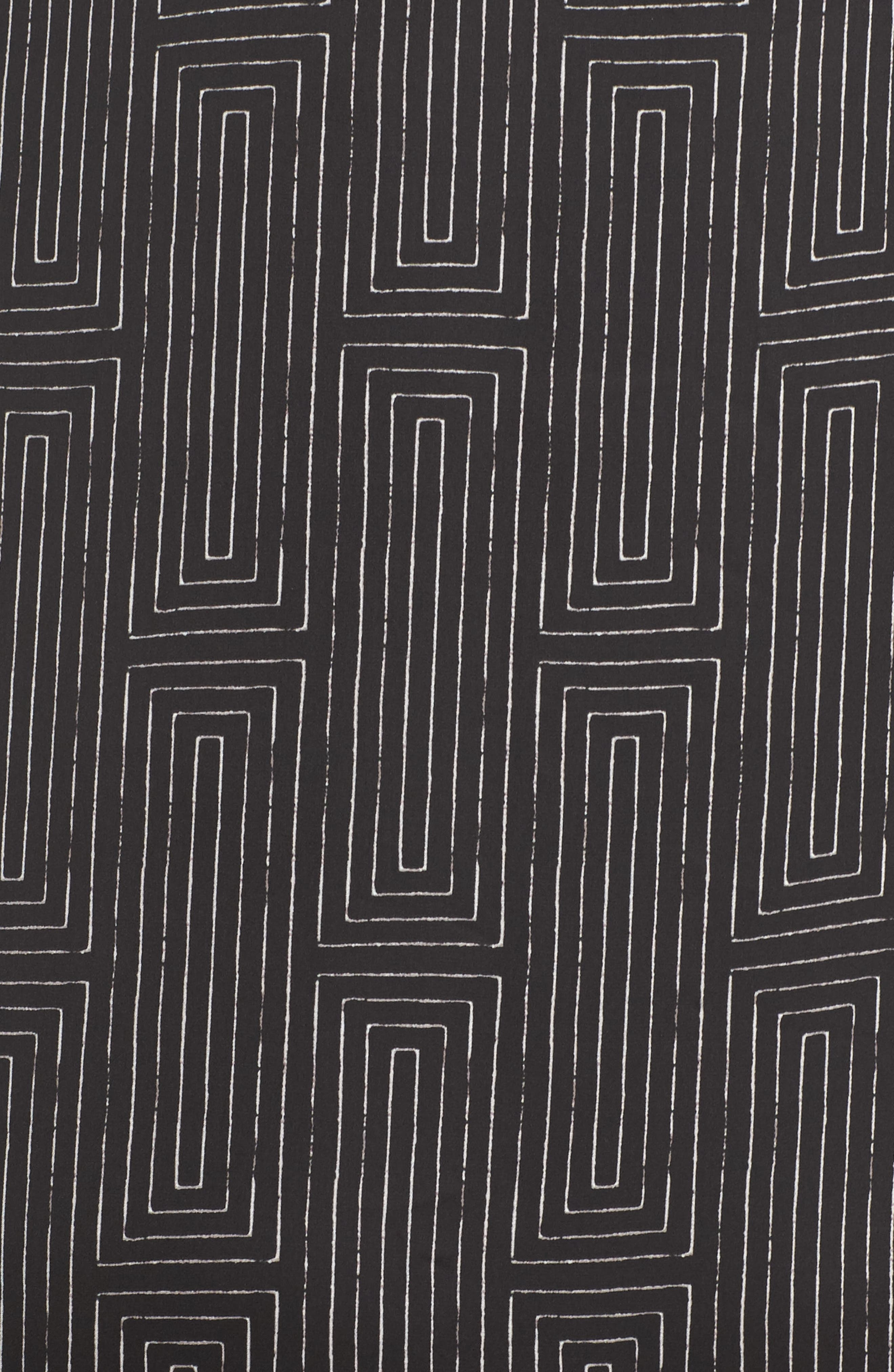Washed Satin Maxi Sleep Shirt,                             Alternate thumbnail 5, color,                             018