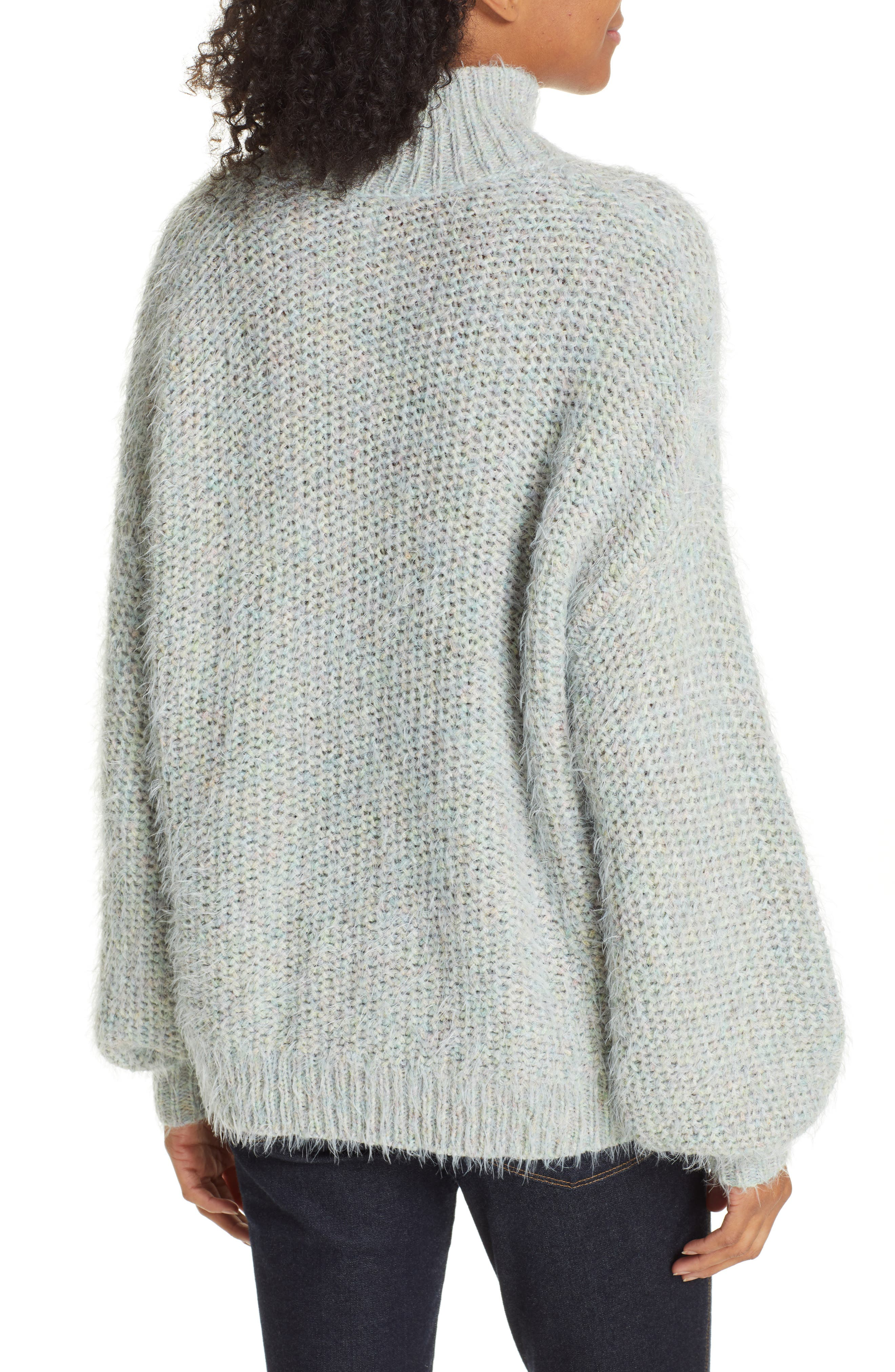 Markita Sweater,                             Alternate thumbnail 2, color,                             HEATHER CELADON
