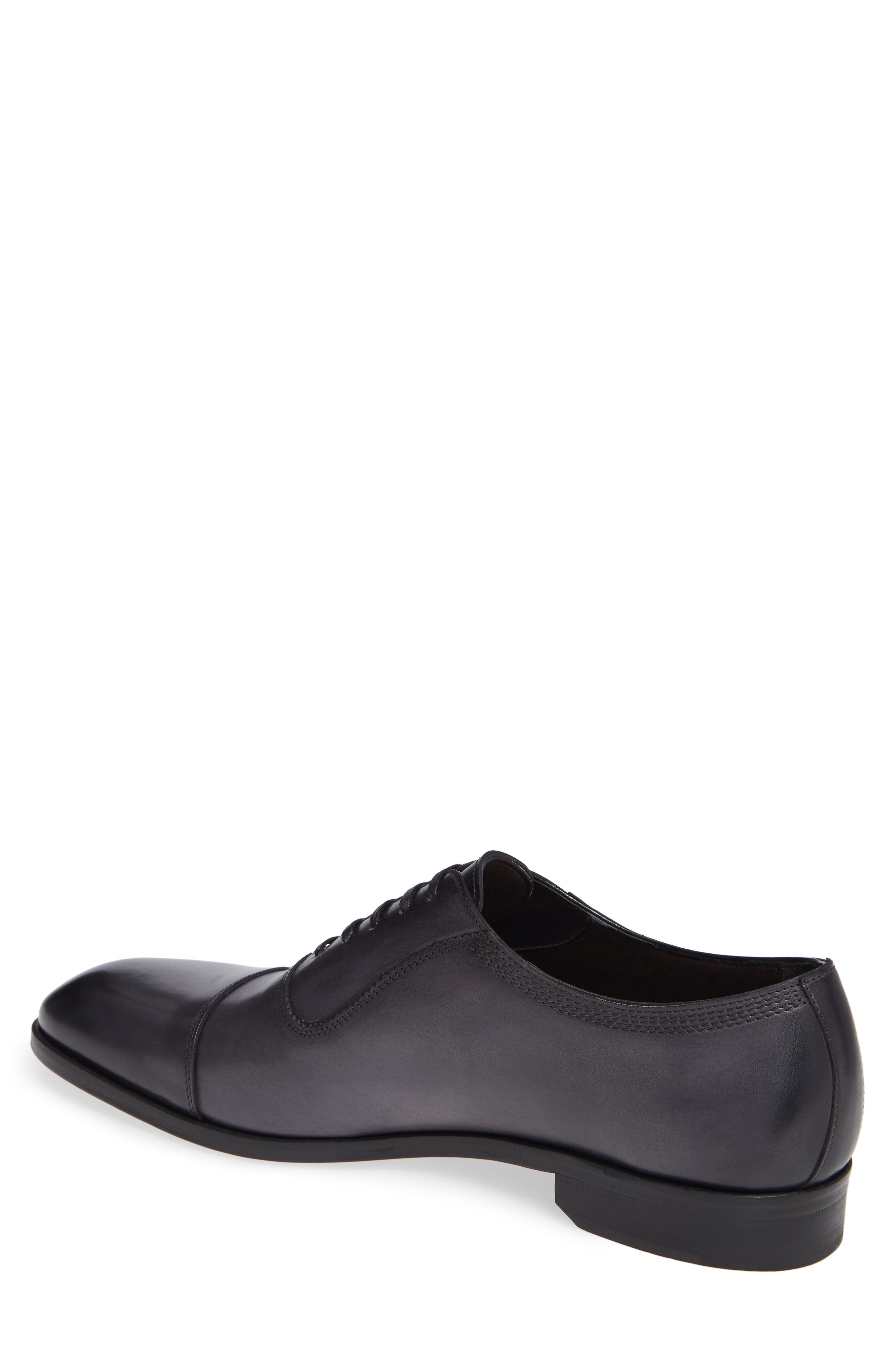 Lucerne Cap Toe Oxford,                             Alternate thumbnail 2, color,                             GREY LEATHER