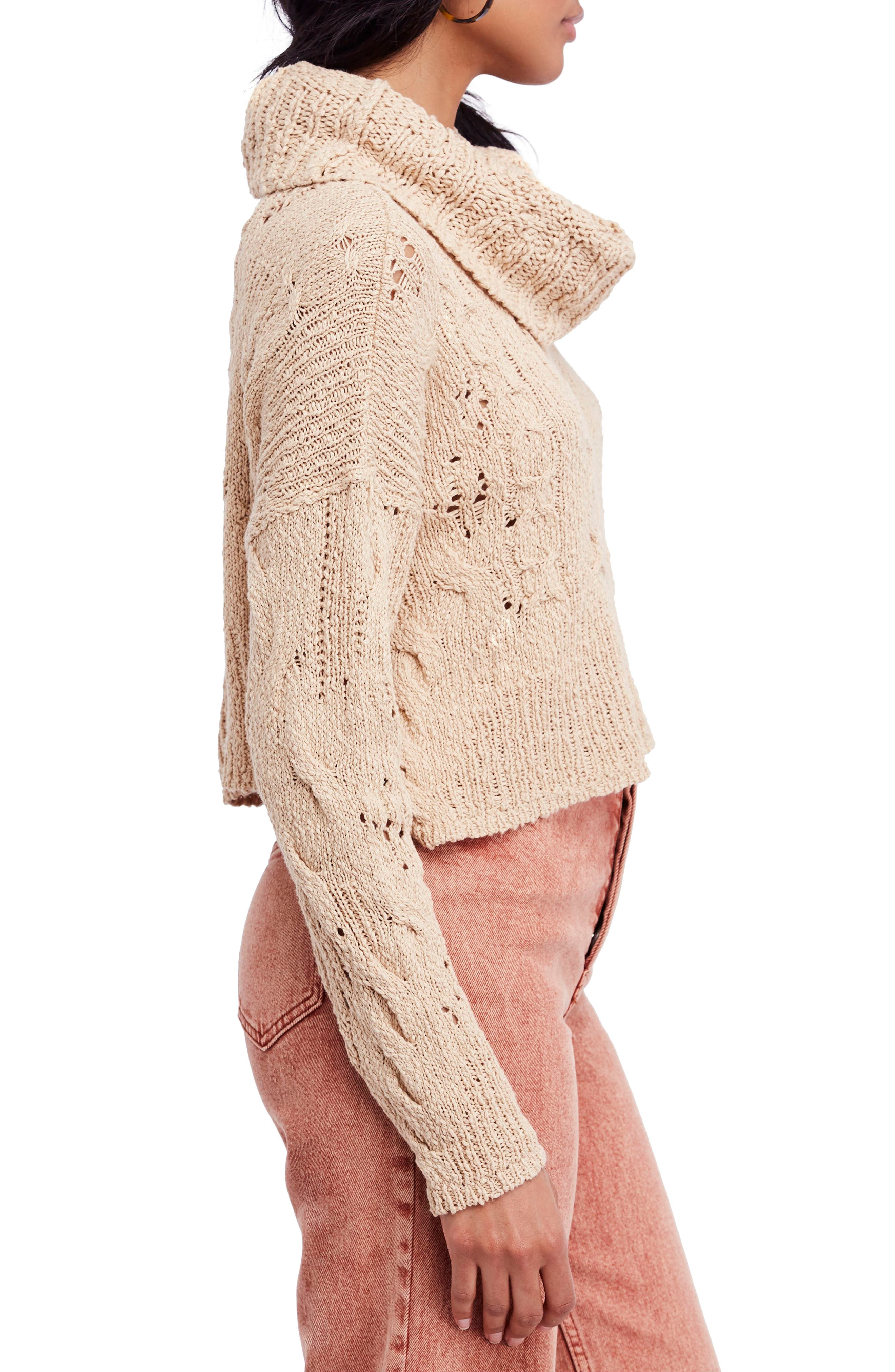 Shades of Dawn Crop Sweater,                             Alternate thumbnail 3, color,                             250
