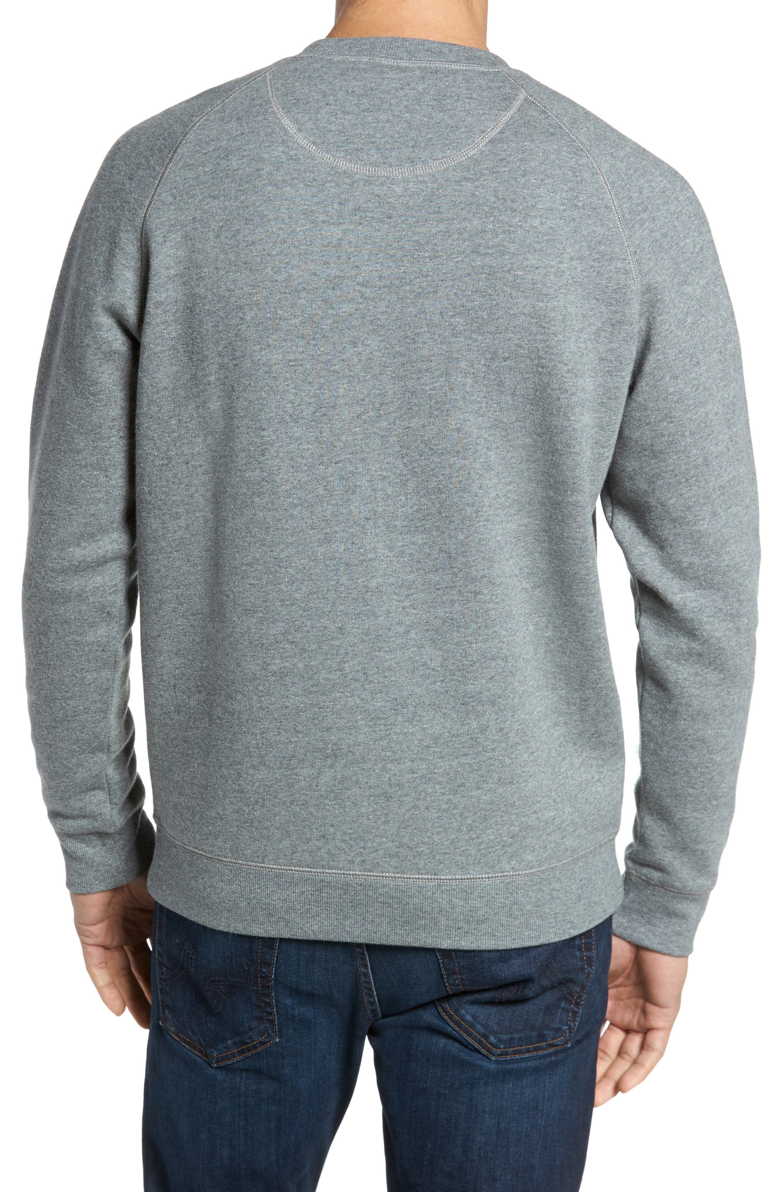 Fleece Sweatshirt,                             Alternate thumbnail 2, color,                             030