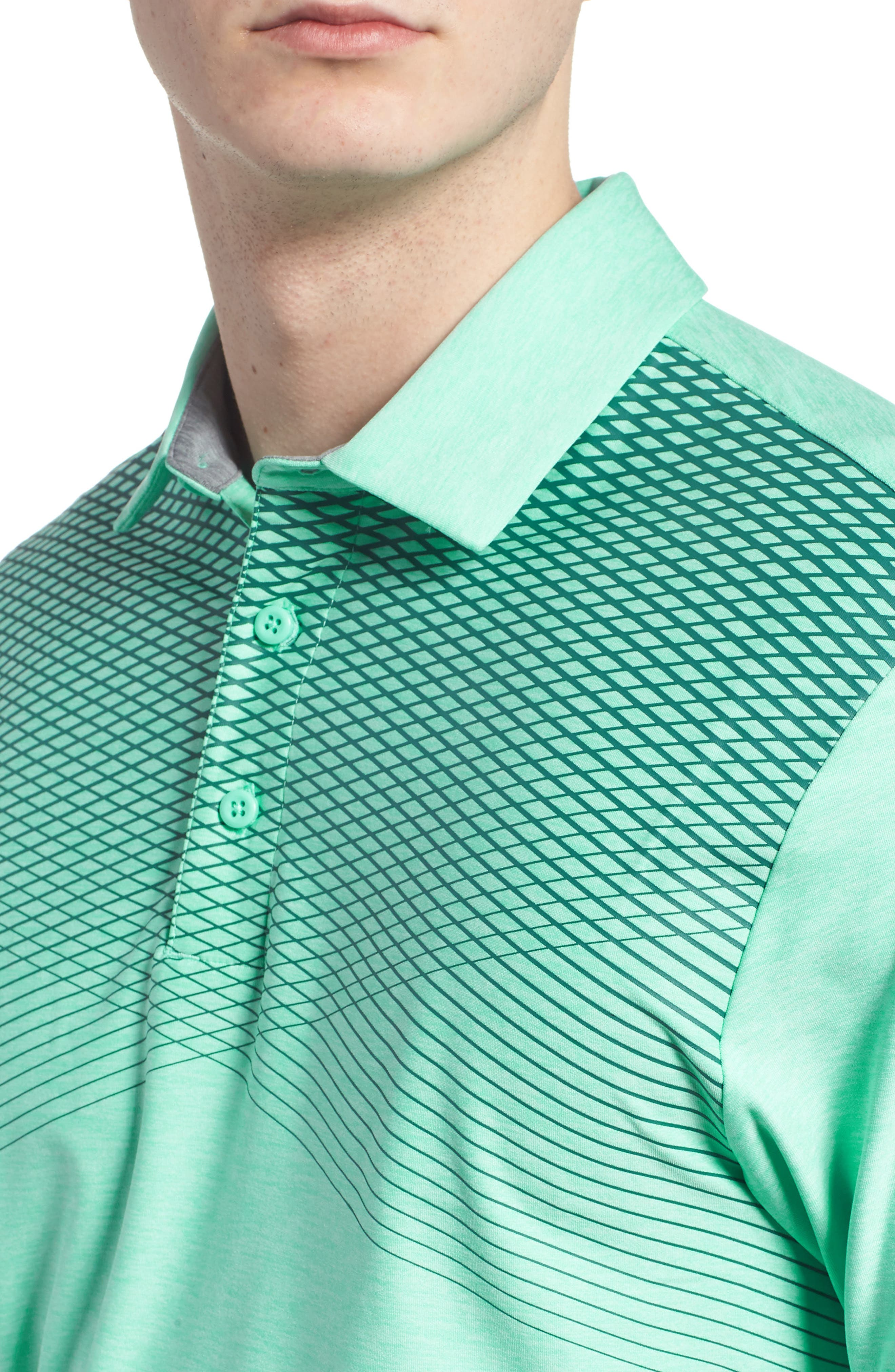 'Playoff' Loose Fit Short Sleeve Polo,                             Alternate thumbnail 181, color,