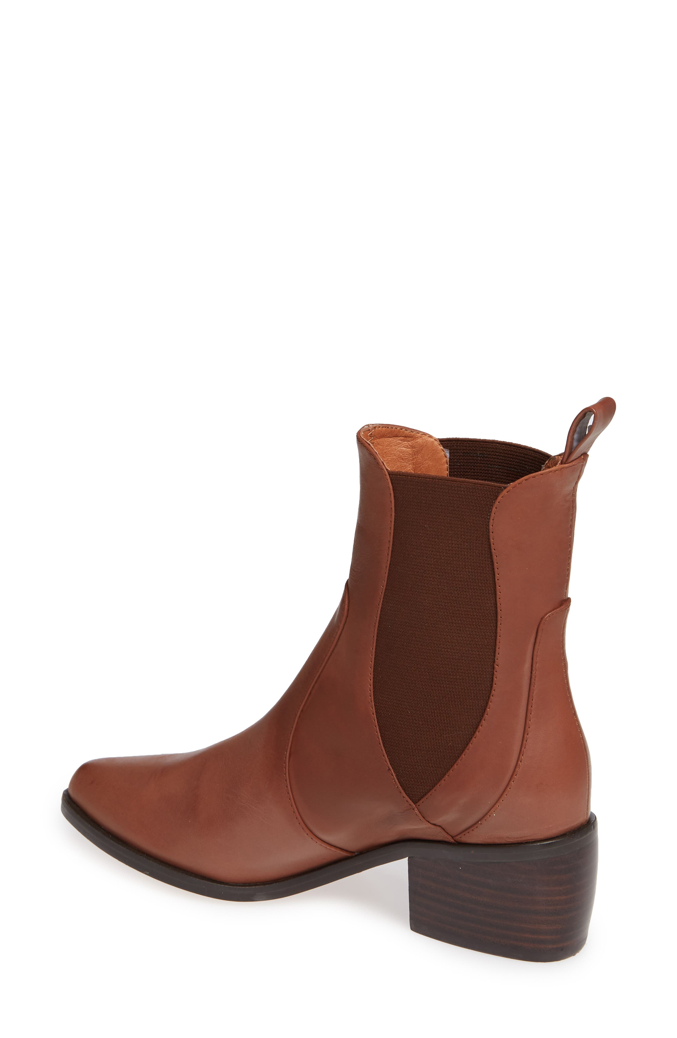 Genesis Bootie,                             Alternate thumbnail 2, color,                             TAN LEATHER