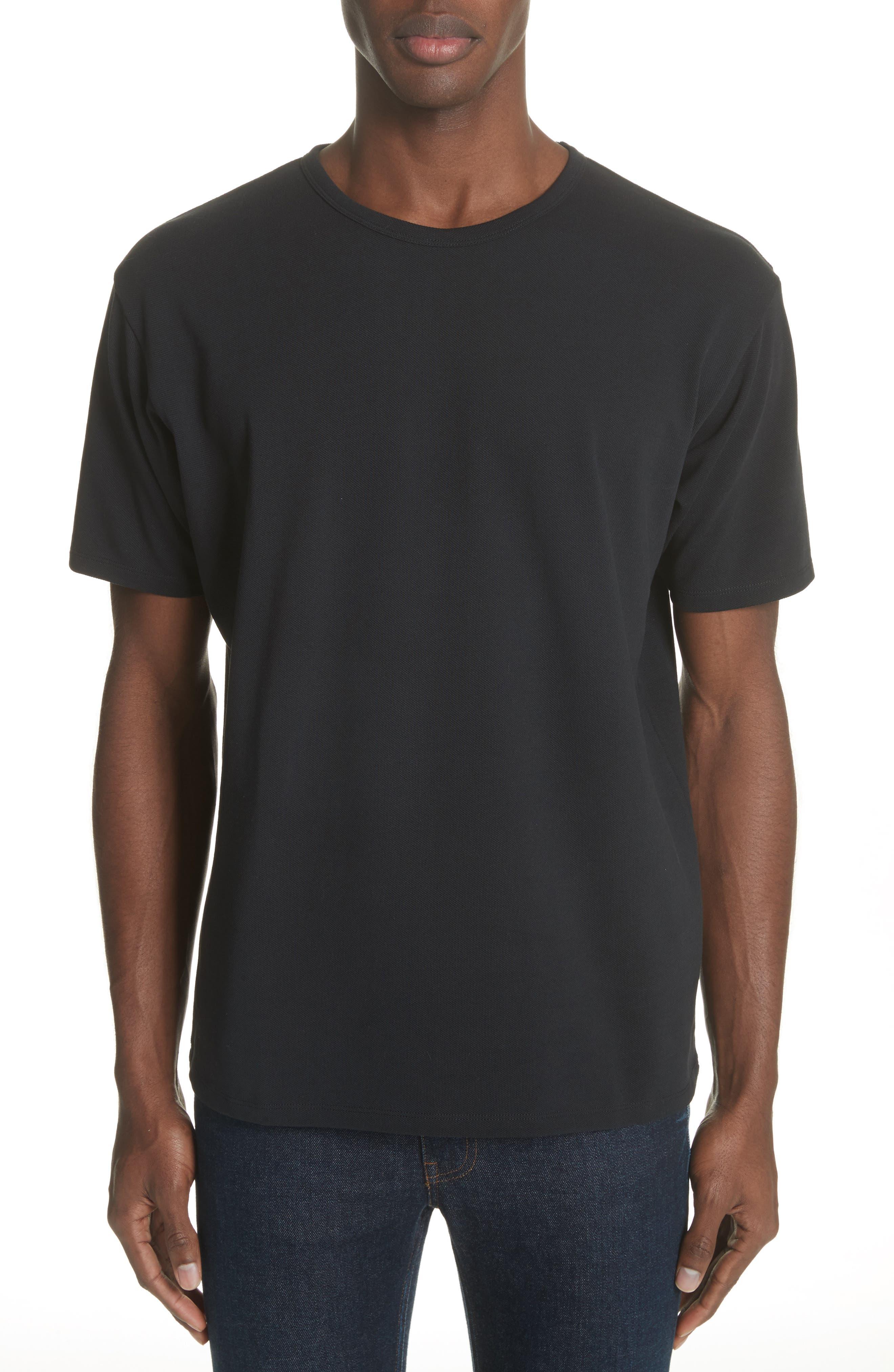 Niagara Crewneck T-Shirt,                             Main thumbnail 1, color,                             BLACK