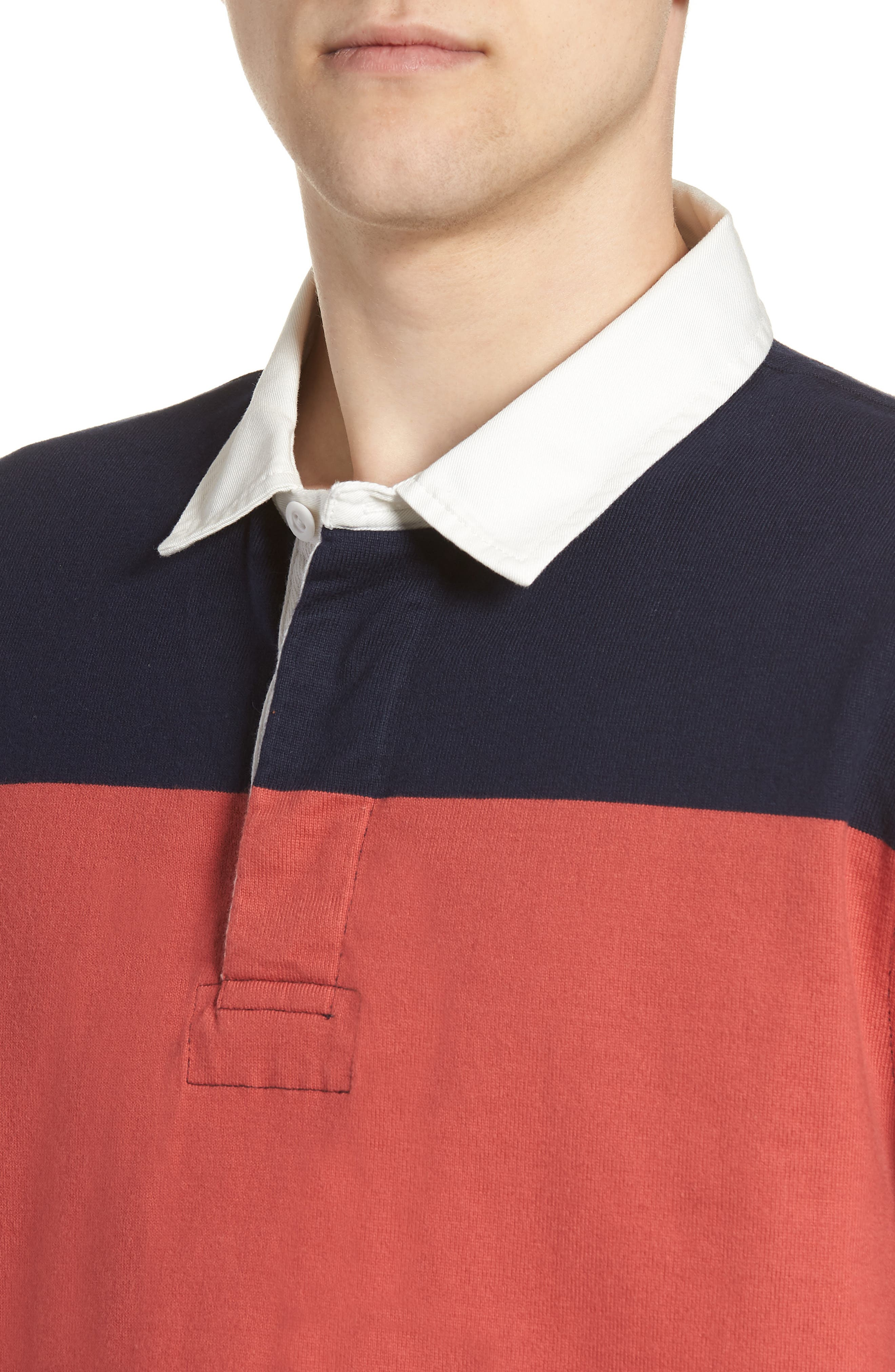 1984 Stripe Rugby Shirt,                             Alternate thumbnail 4, color,                             600