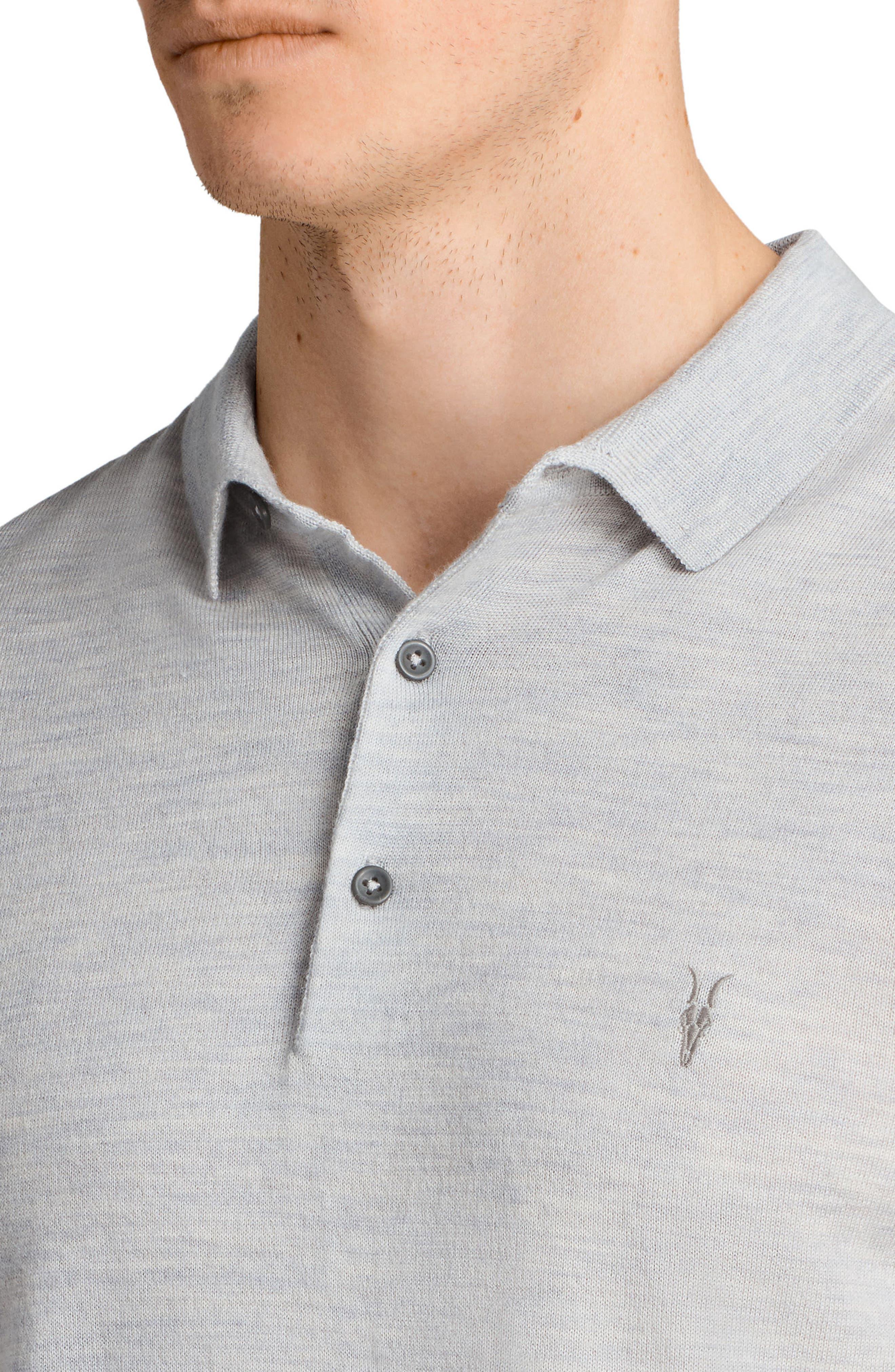 Mode Slim Fit Merino Wool Polo,                             Alternate thumbnail 12, color,
