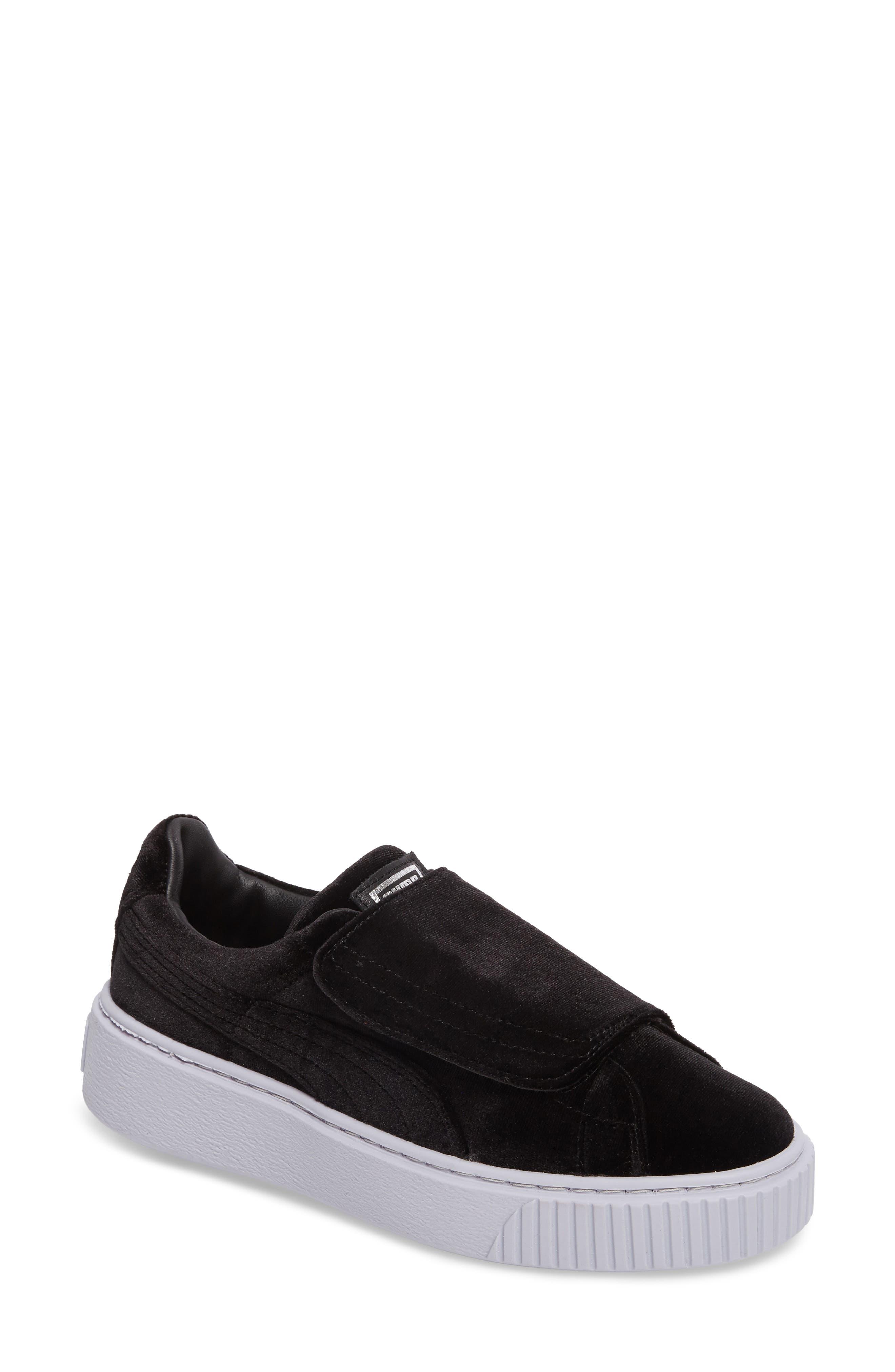 Basket Platform Sneaker,                             Main thumbnail 1, color,                             002