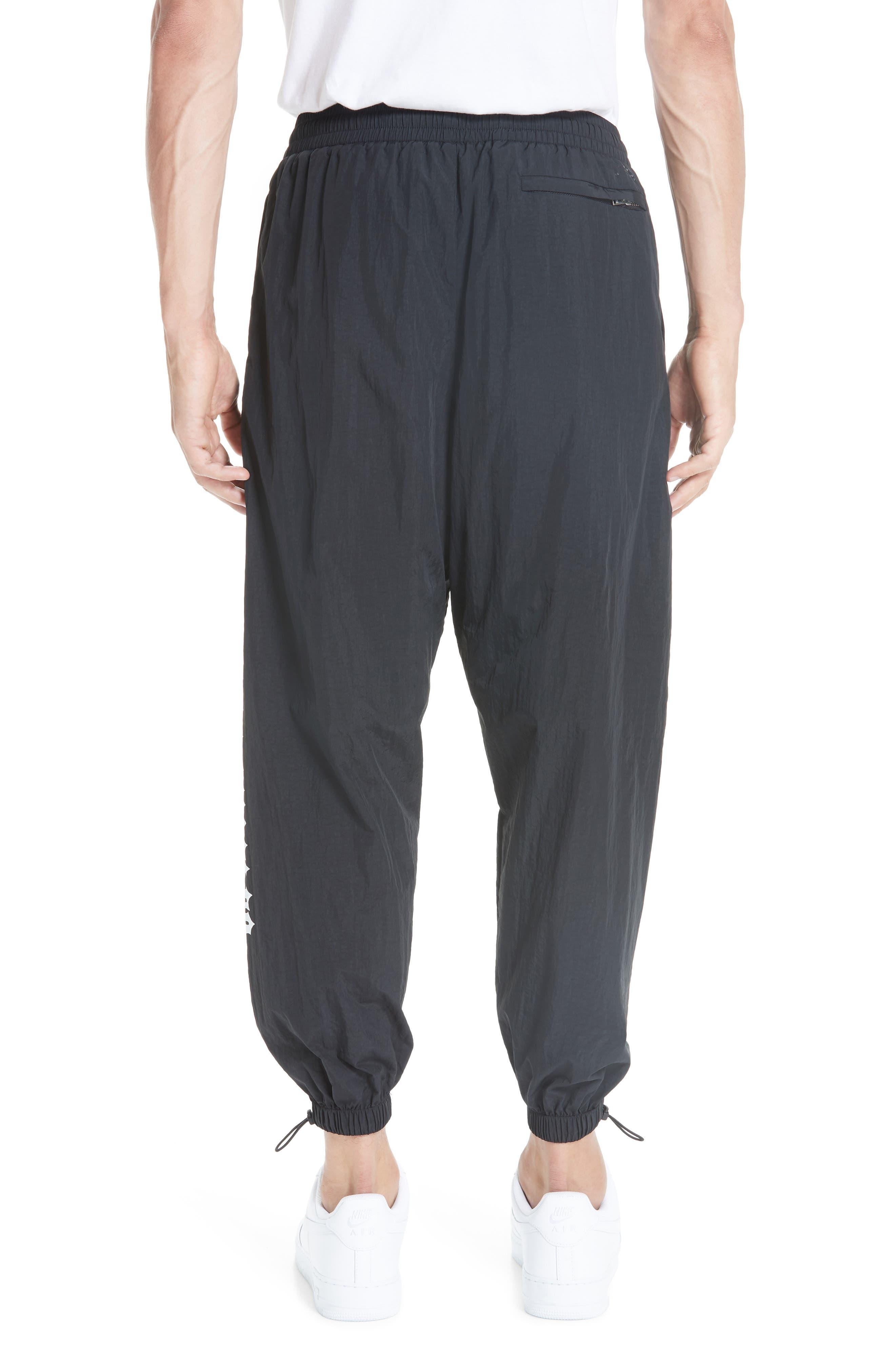 Nylon Chopper Pants,                             Alternate thumbnail 2, color,                             BLACK