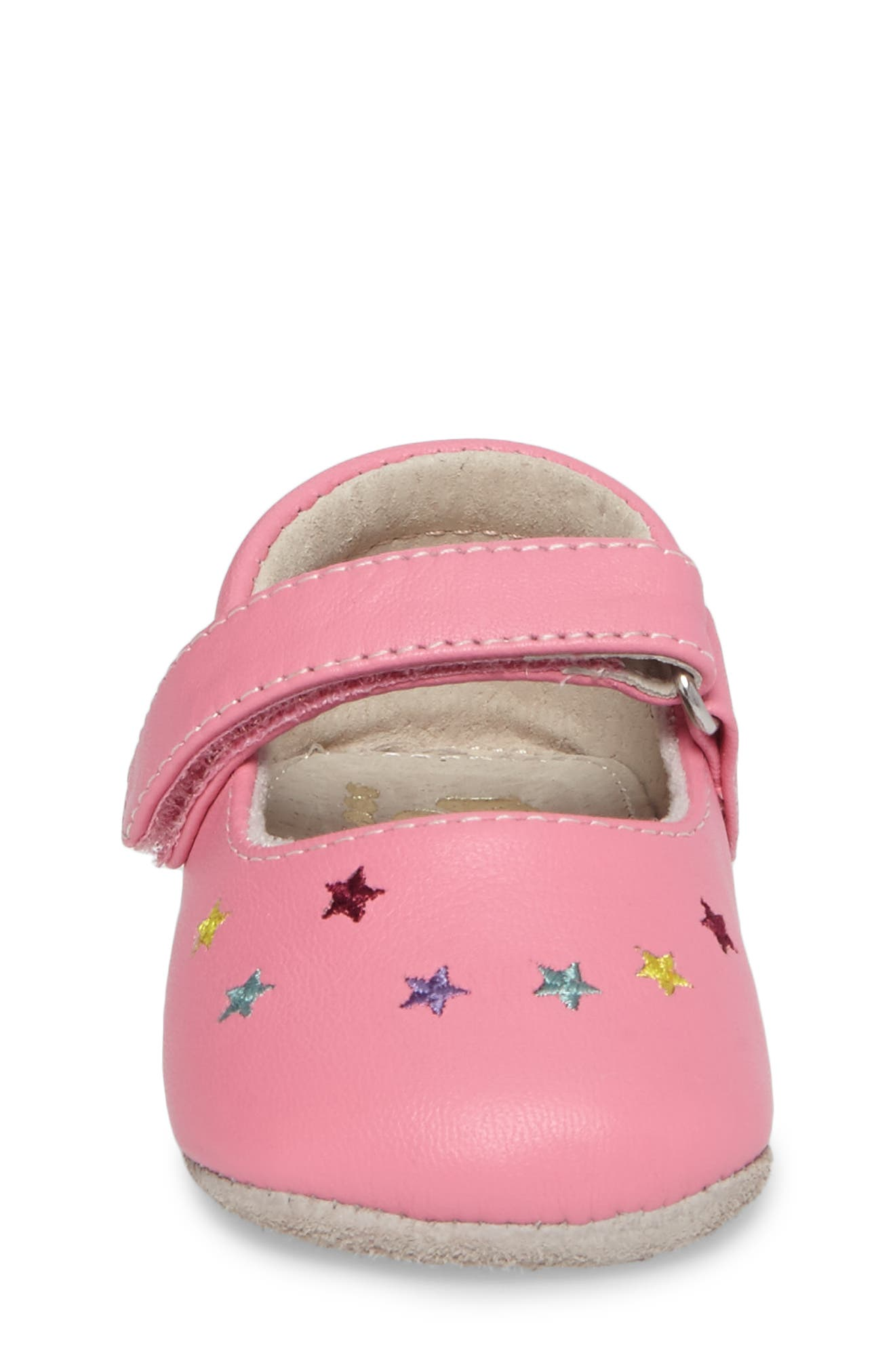 Harriet Mary Jane Crib Shoe,                             Alternate thumbnail 4, color,                             670