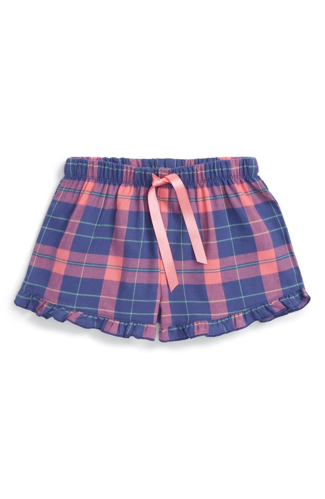 Flannel Shorts,                             Main thumbnail 1, color,                             410