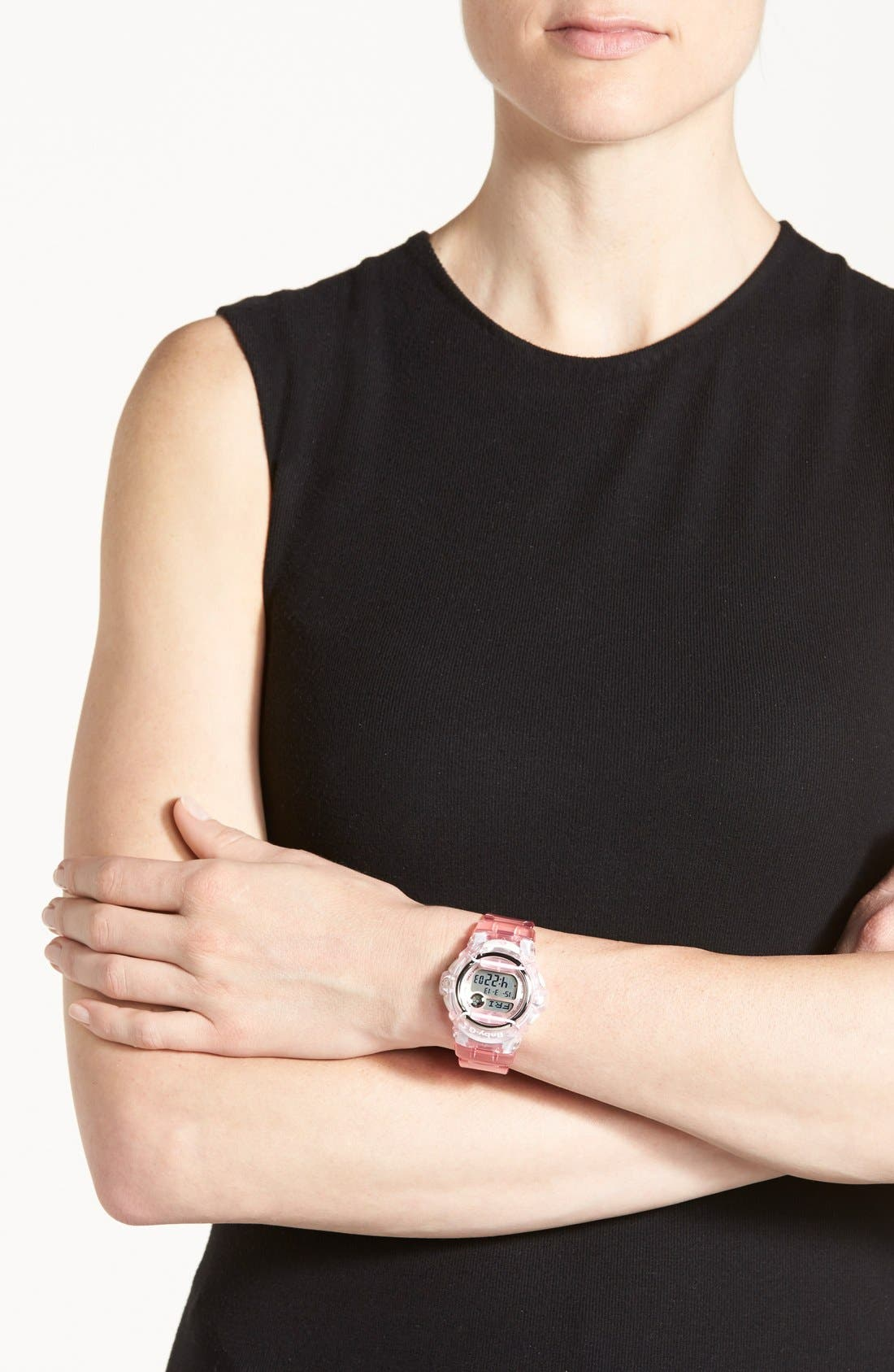 Baby-G Jelly Watch, 46mm,                             Alternate thumbnail 7, color,