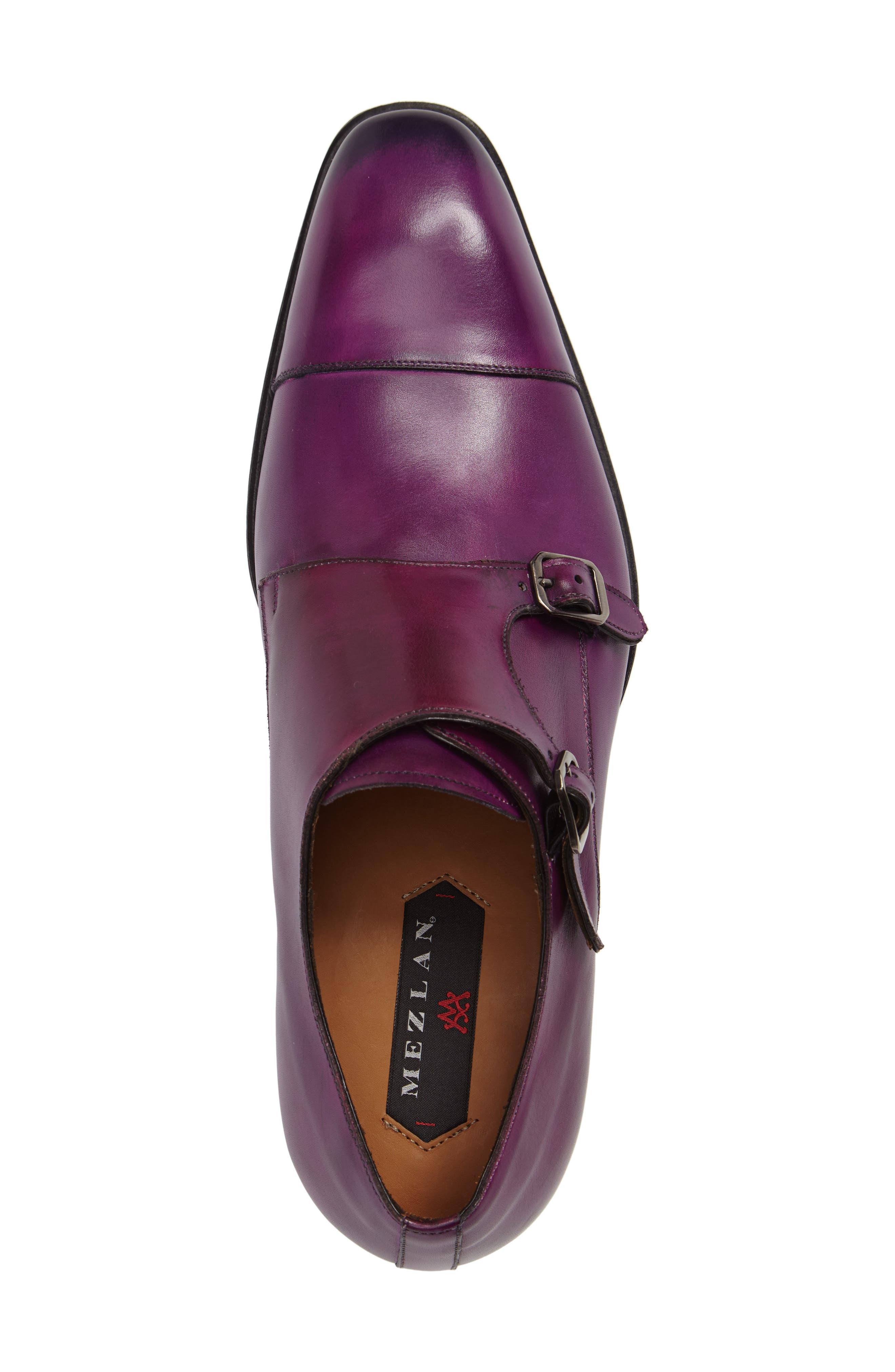 Cajal Double Monk Strap Cap Toe Shoe,                             Alternate thumbnail 11, color,