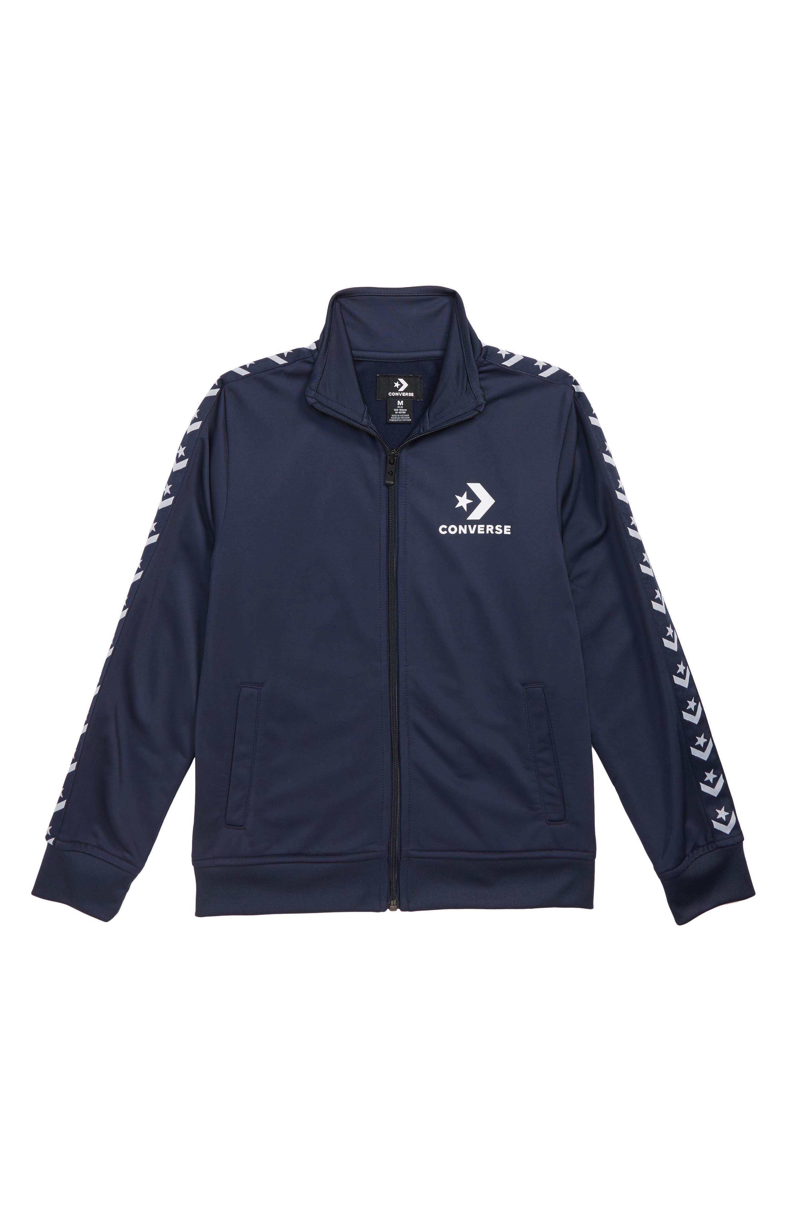 CONVERSE Track Jacket, Main, color, 418