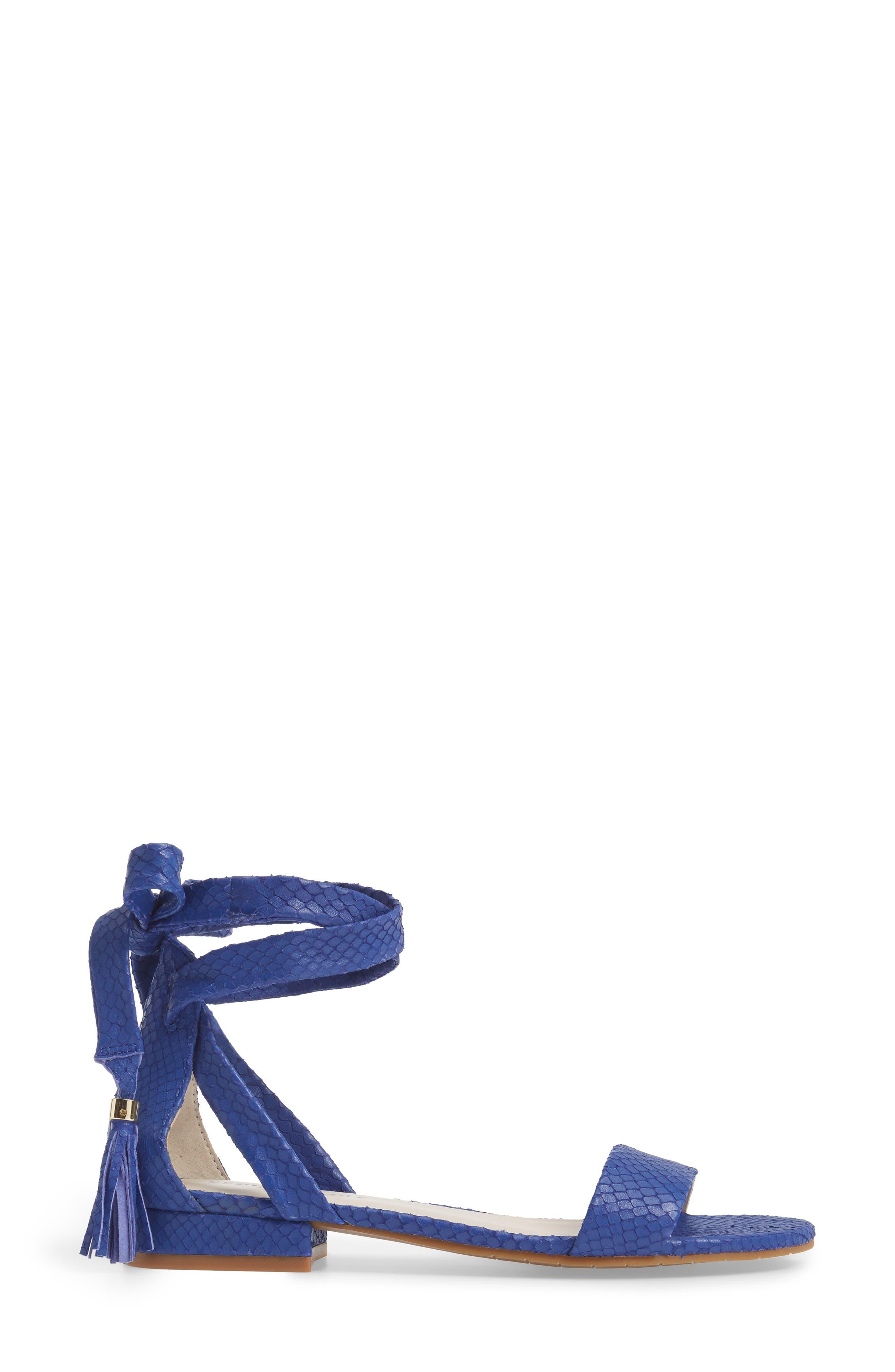 Valen Tassel Lace-Up Sandal,                             Alternate thumbnail 37, color,