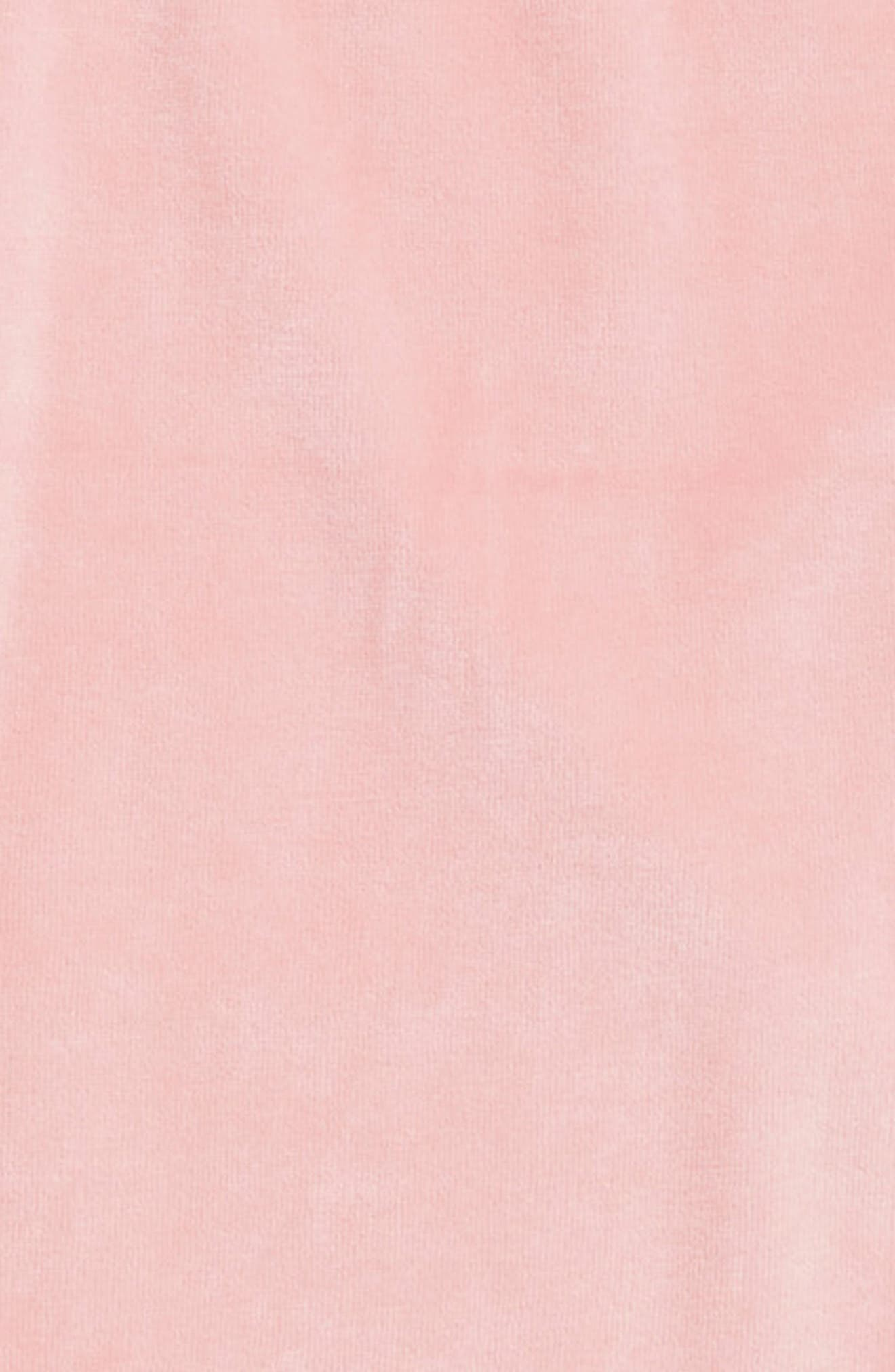 Velour Side Slit Sweatshirt,                             Alternate thumbnail 2, color,                             630