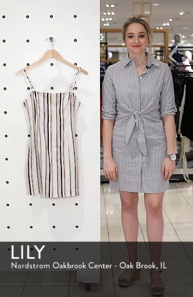 Striped Shift Dress, sales video thumbnail