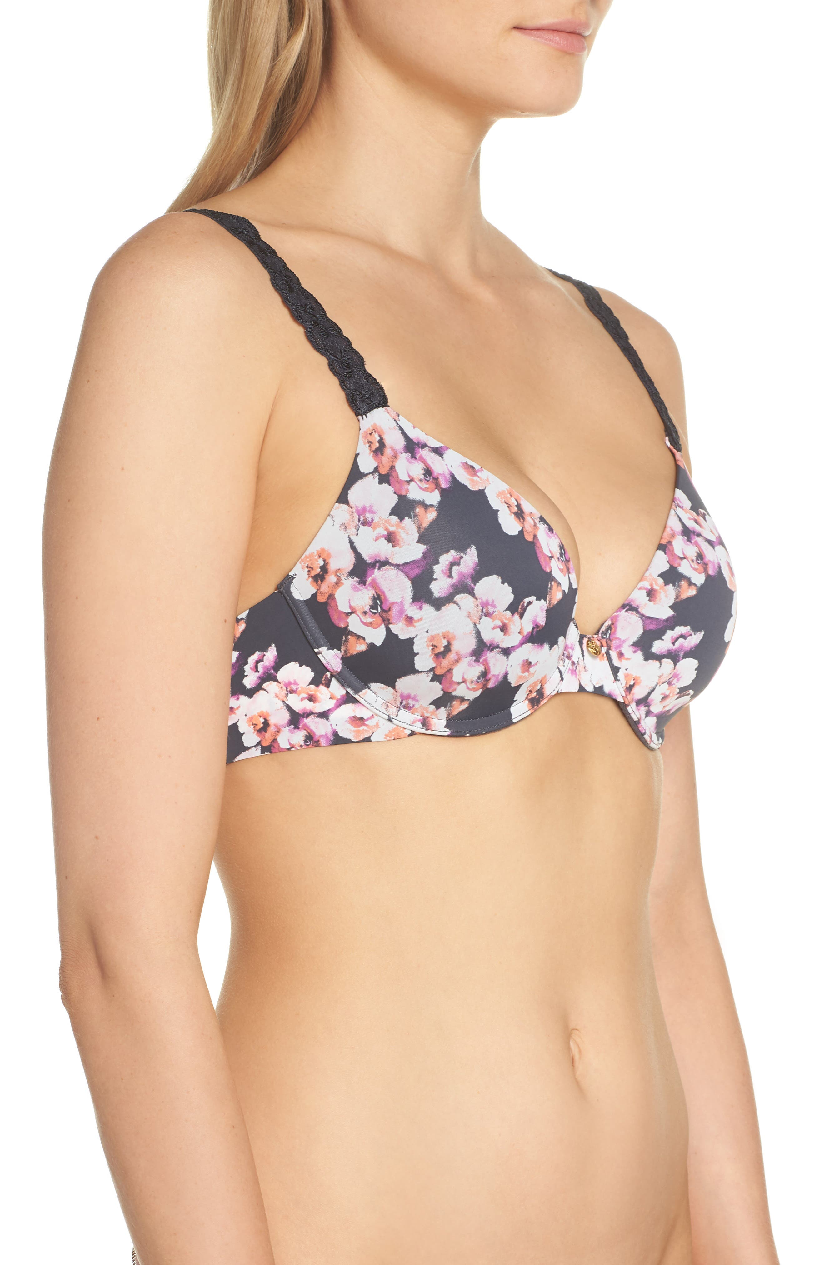 'Pure Luxe' Underwire T-Shirt Bra,                             Alternate thumbnail 65, color,