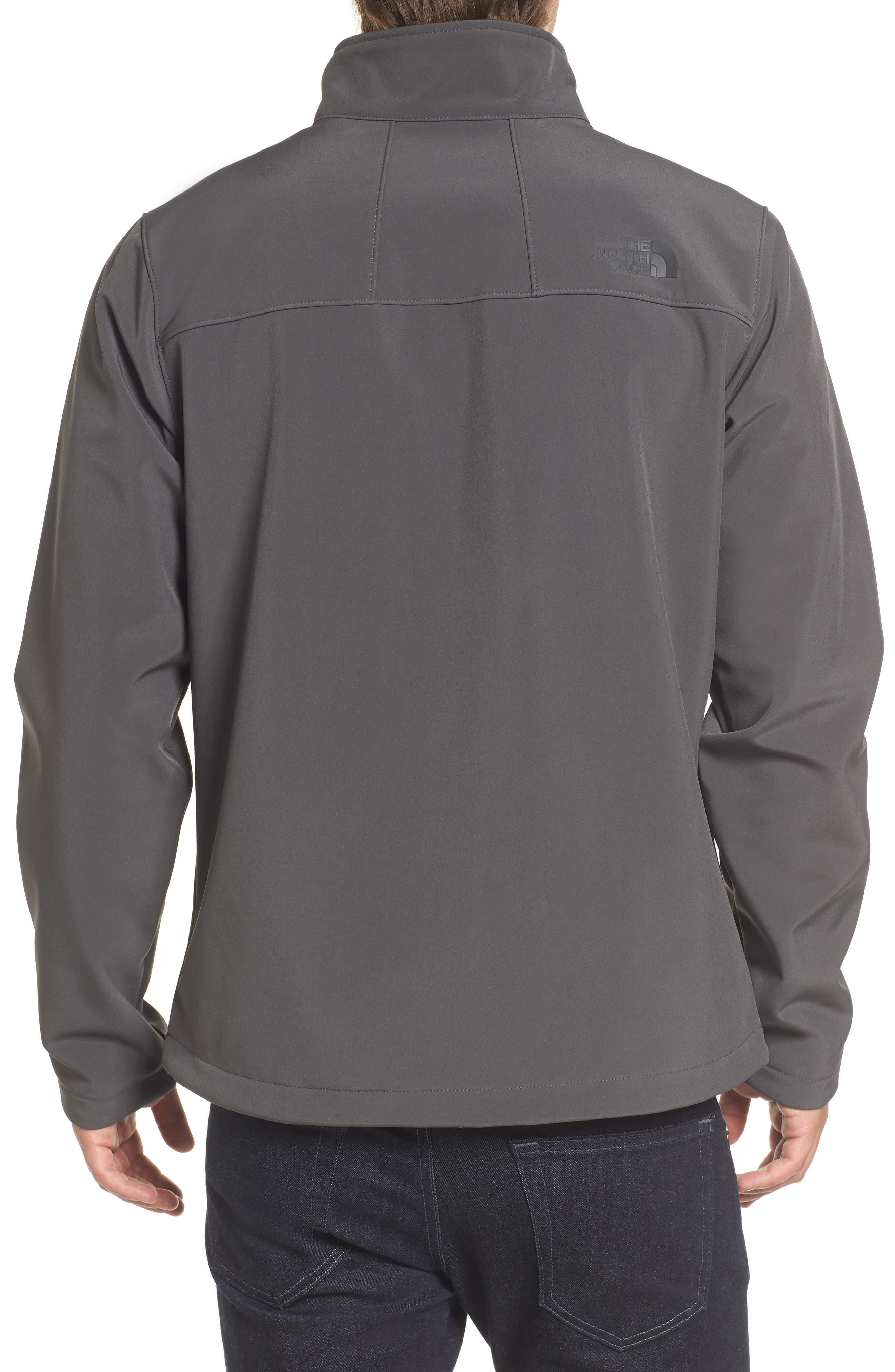 'Apex Bionic 2' Windproof & Water Resistant Soft Shell Jacket,                             Alternate thumbnail 2, color,                             ASPHALT GREY/ASPHALT GREY