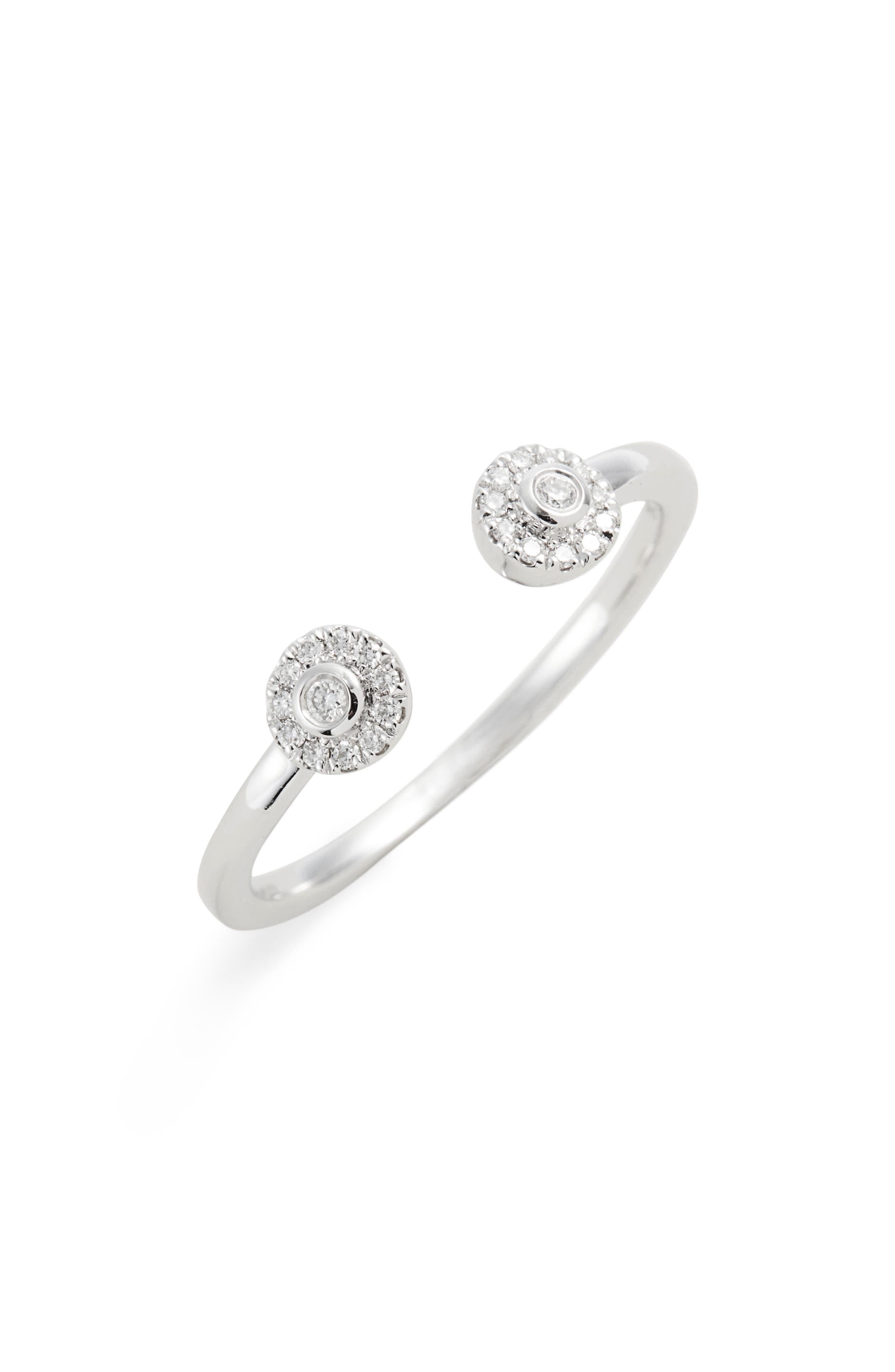 Lauren Joy Open Diamond Ring,                             Main thumbnail 1, color,                             711