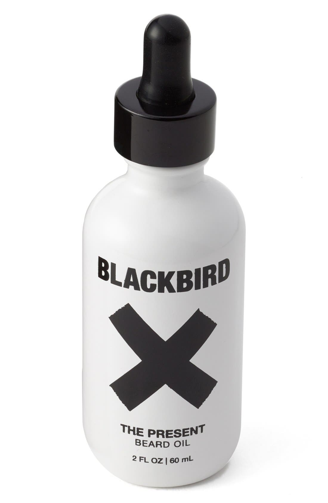 BLACKBIRD 'The Present' Beard Oil, Main, color, 960