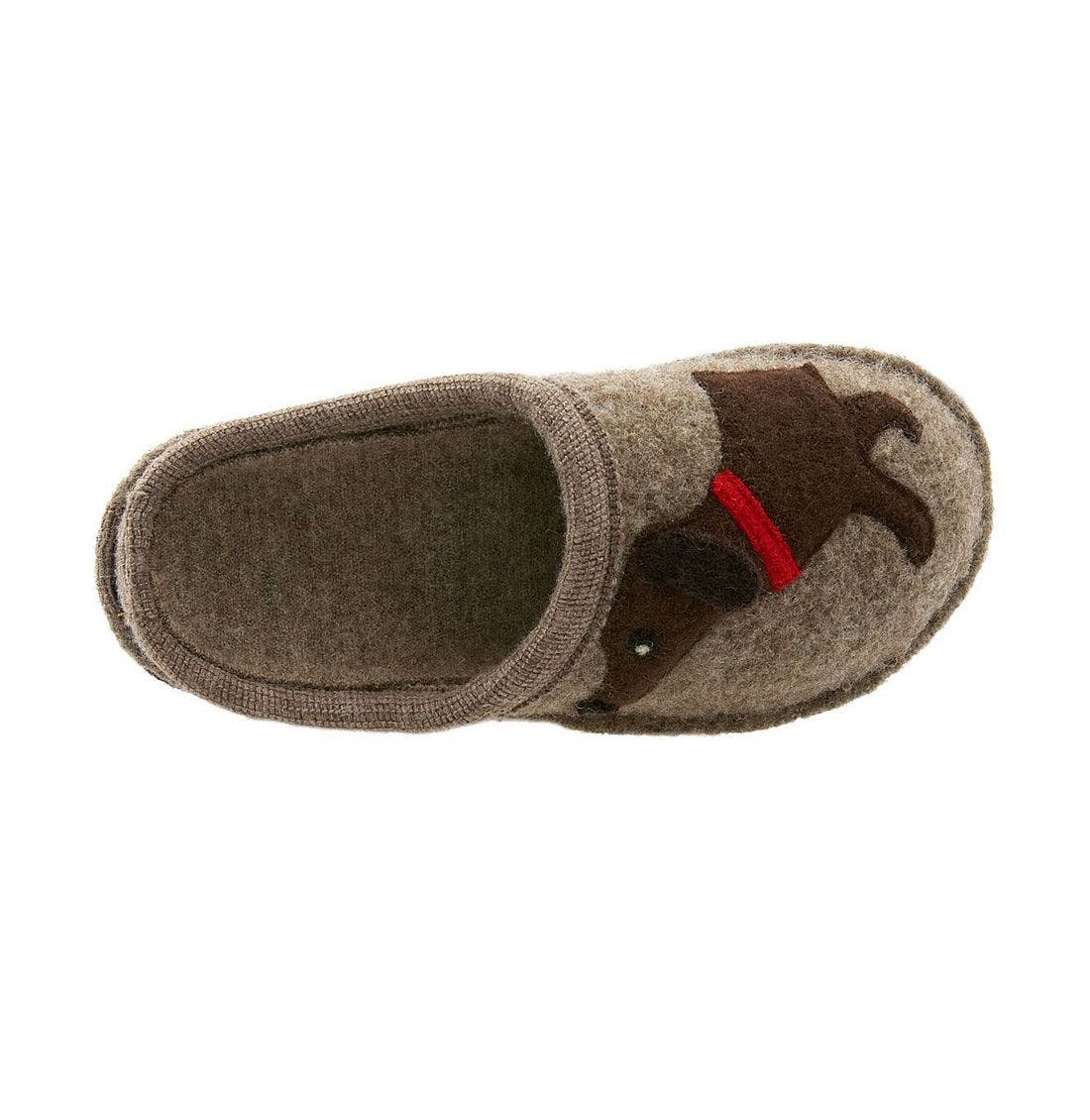 'Doggy' Slipper,                             Alternate thumbnail 9, color,                             EARTH
