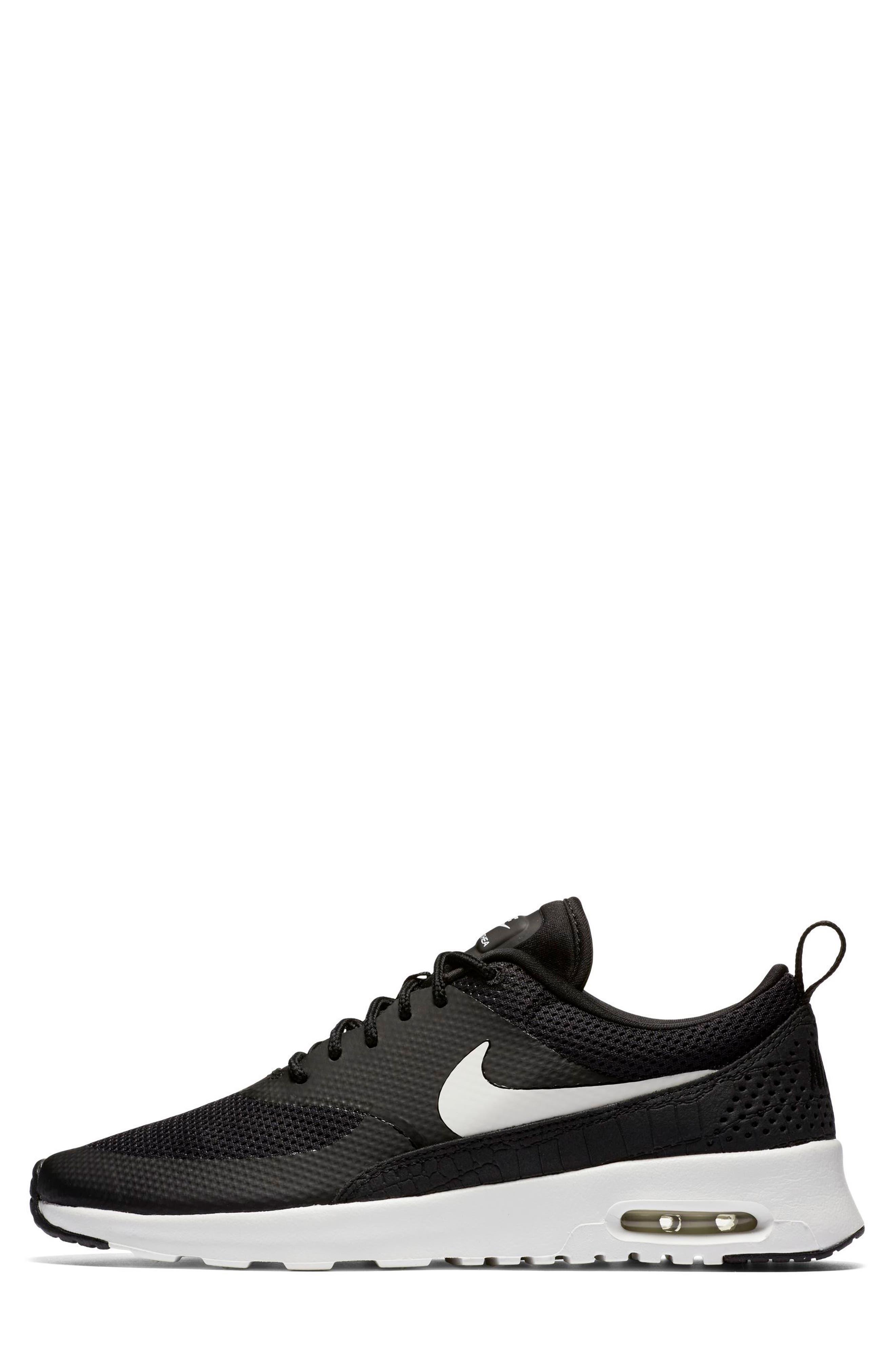 Air Max Thea Sneaker,                             Alternate thumbnail 3, color,                             020