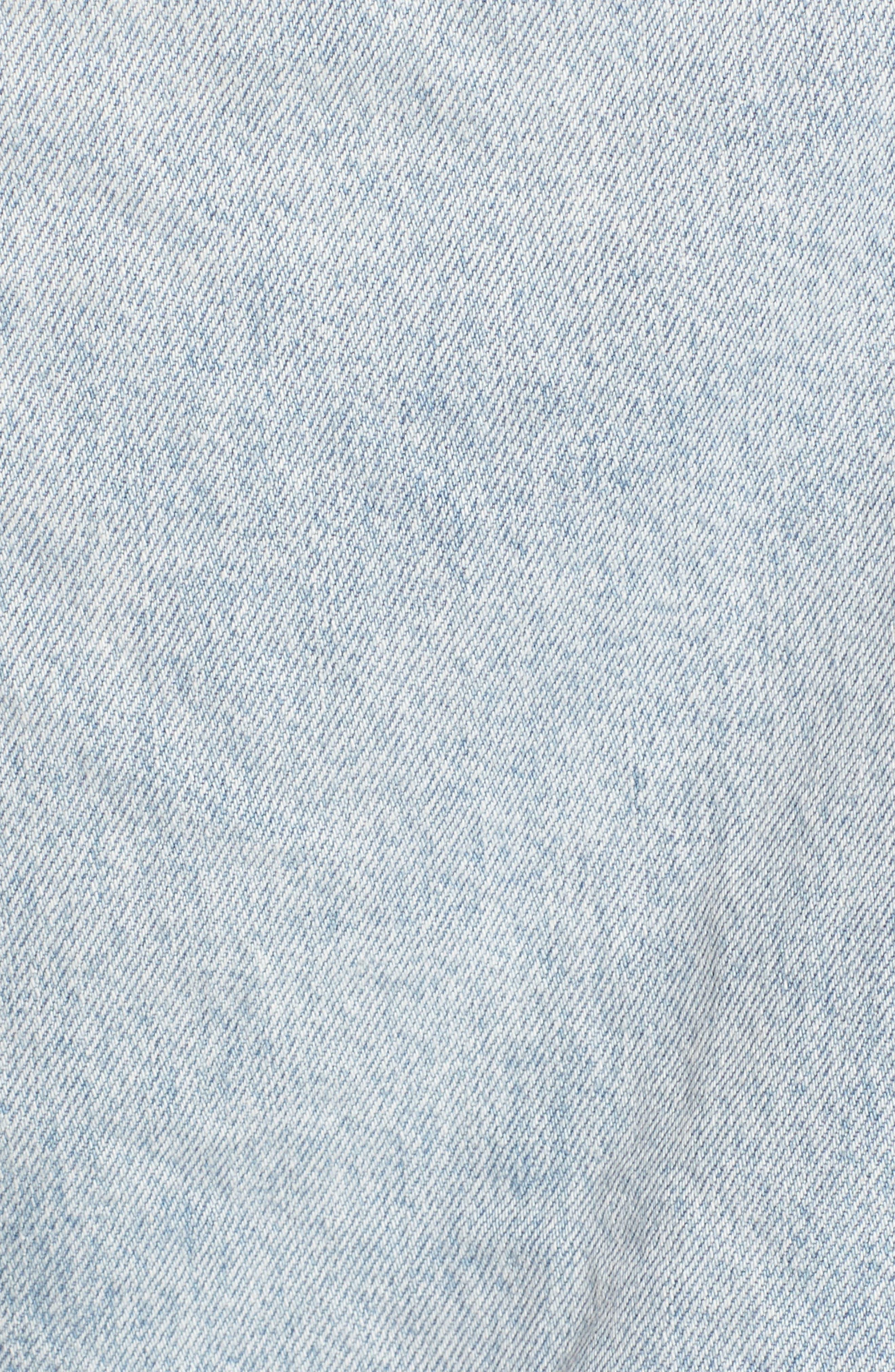 Levis<sup>®</sup> Baggy Trucker Denim Jacket,                             Alternate thumbnail 6, color,                             401