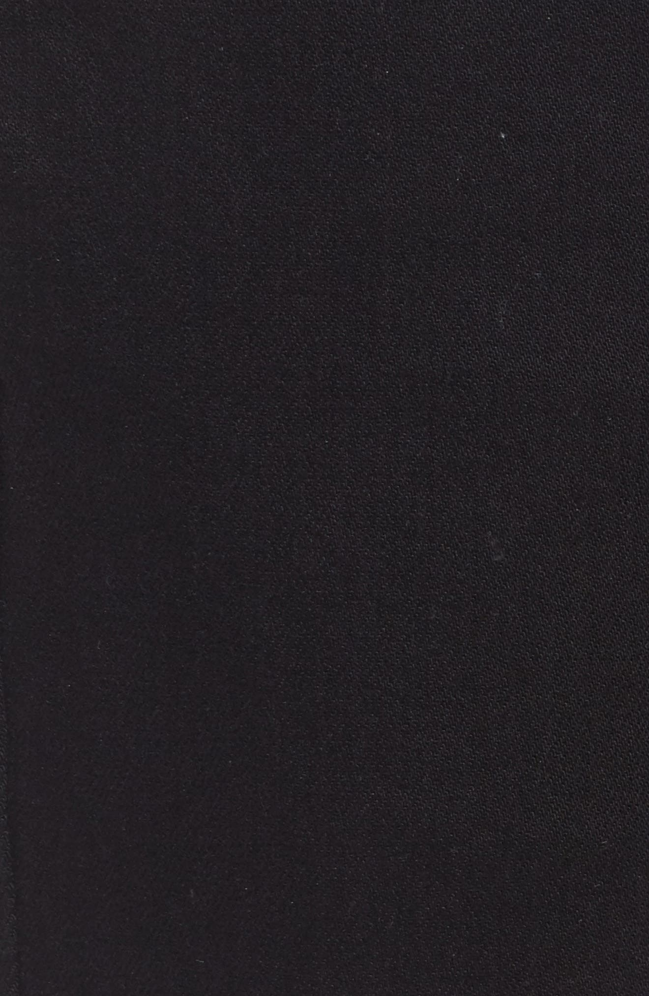 Nick Slim Fit Flat Front Pants,                             Alternate thumbnail 5, color,                             001