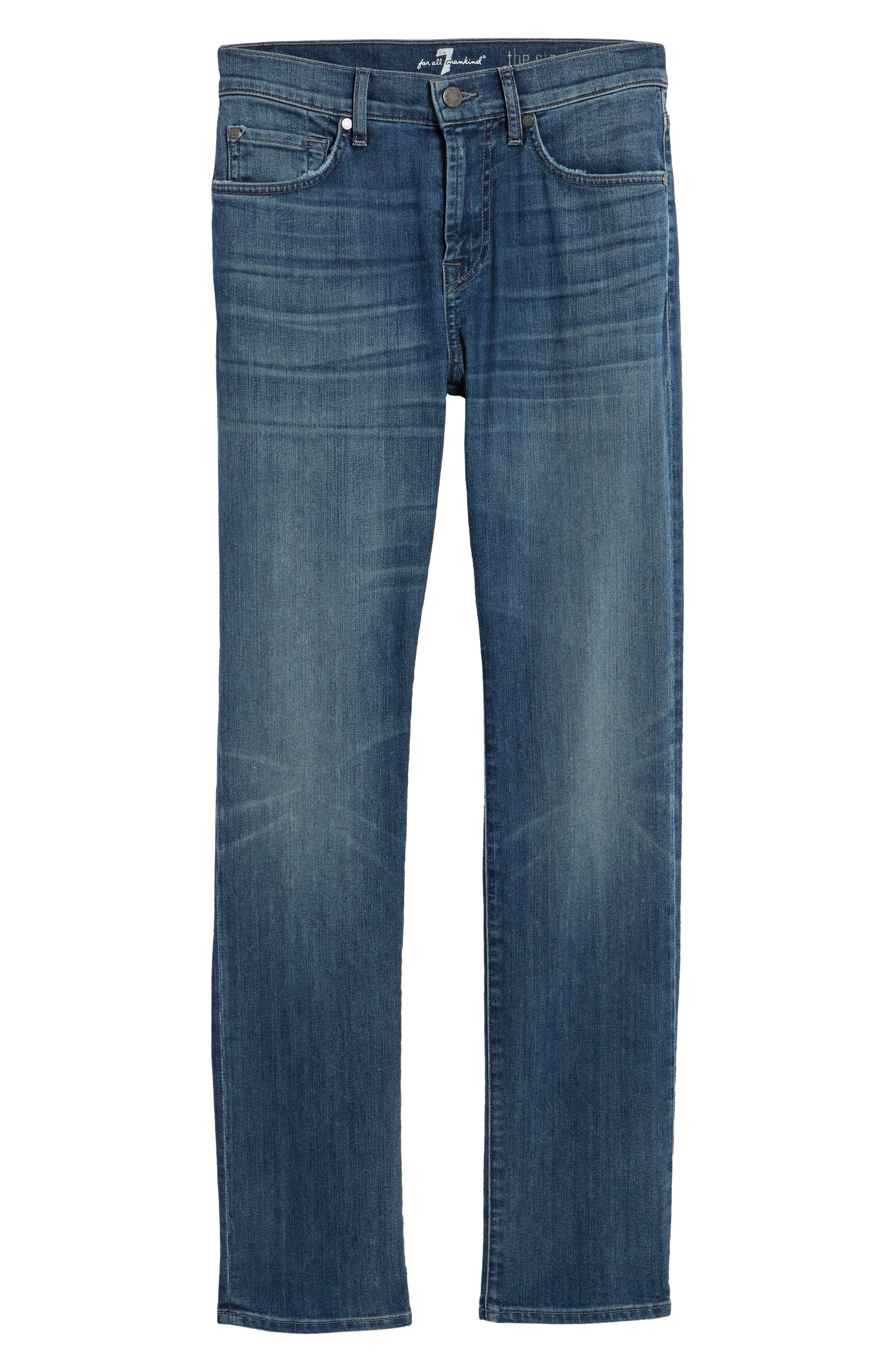 The Straight Slim Straight Leg Jeans,                             Alternate thumbnail 6, color,                             408