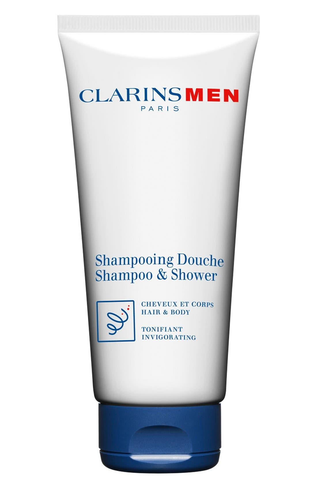 Men Shampoo & Shower Wash,                         Main,                         color, NO COLOR