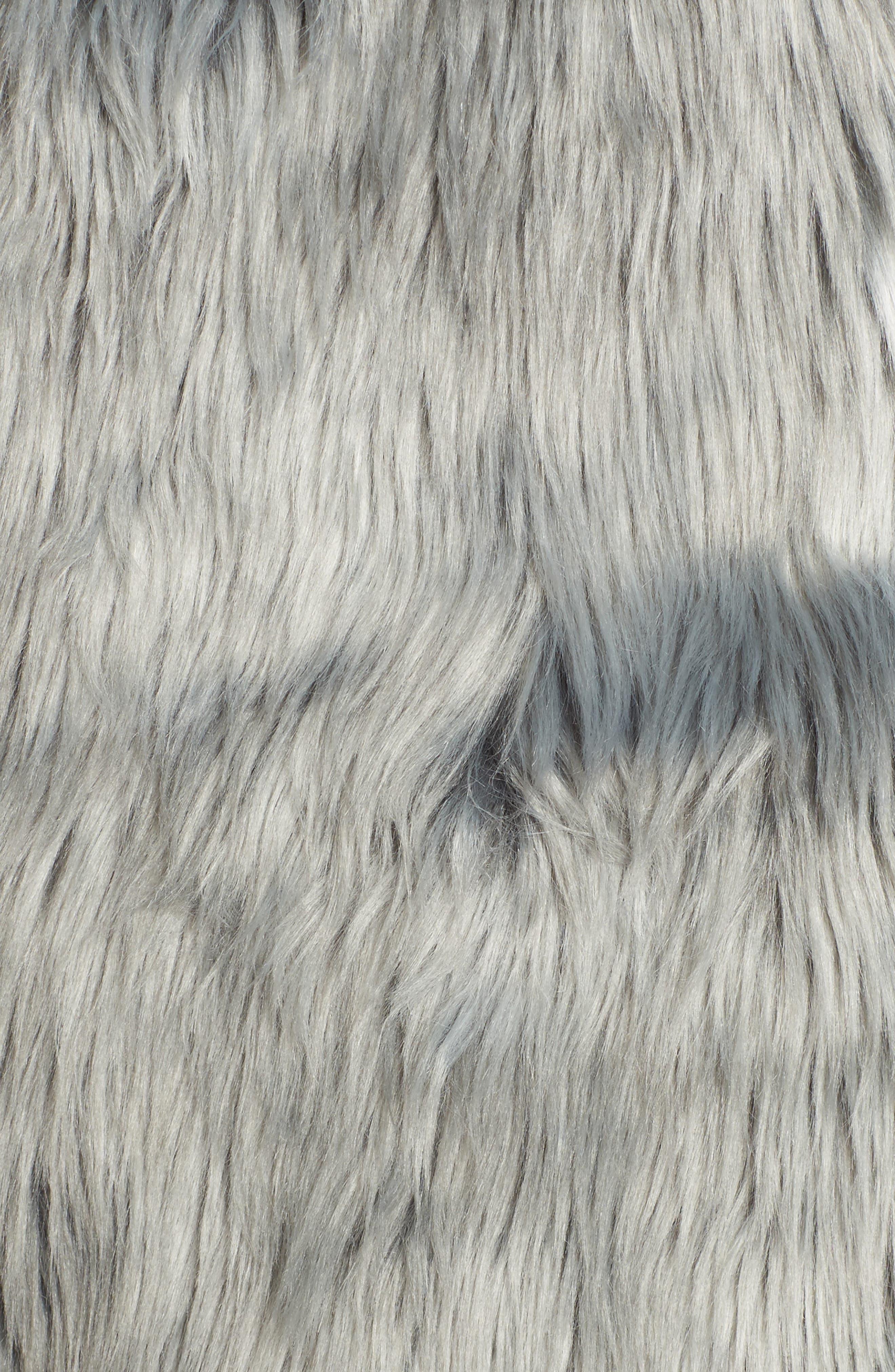 Faux Fur Vest,                             Alternate thumbnail 6, color,                             425