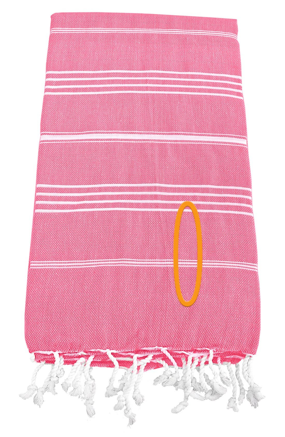 Monogram Turkish Cotton Towel,                             Main thumbnail 151, color,