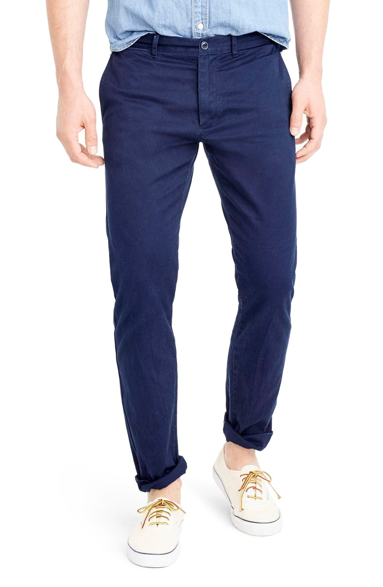 484 Slim Fit Stretch Chino Pants,                             Main thumbnail 9, color,