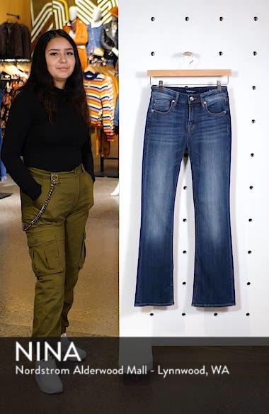 Jagger High Waist Bootcut Jeans, sales video thumbnail