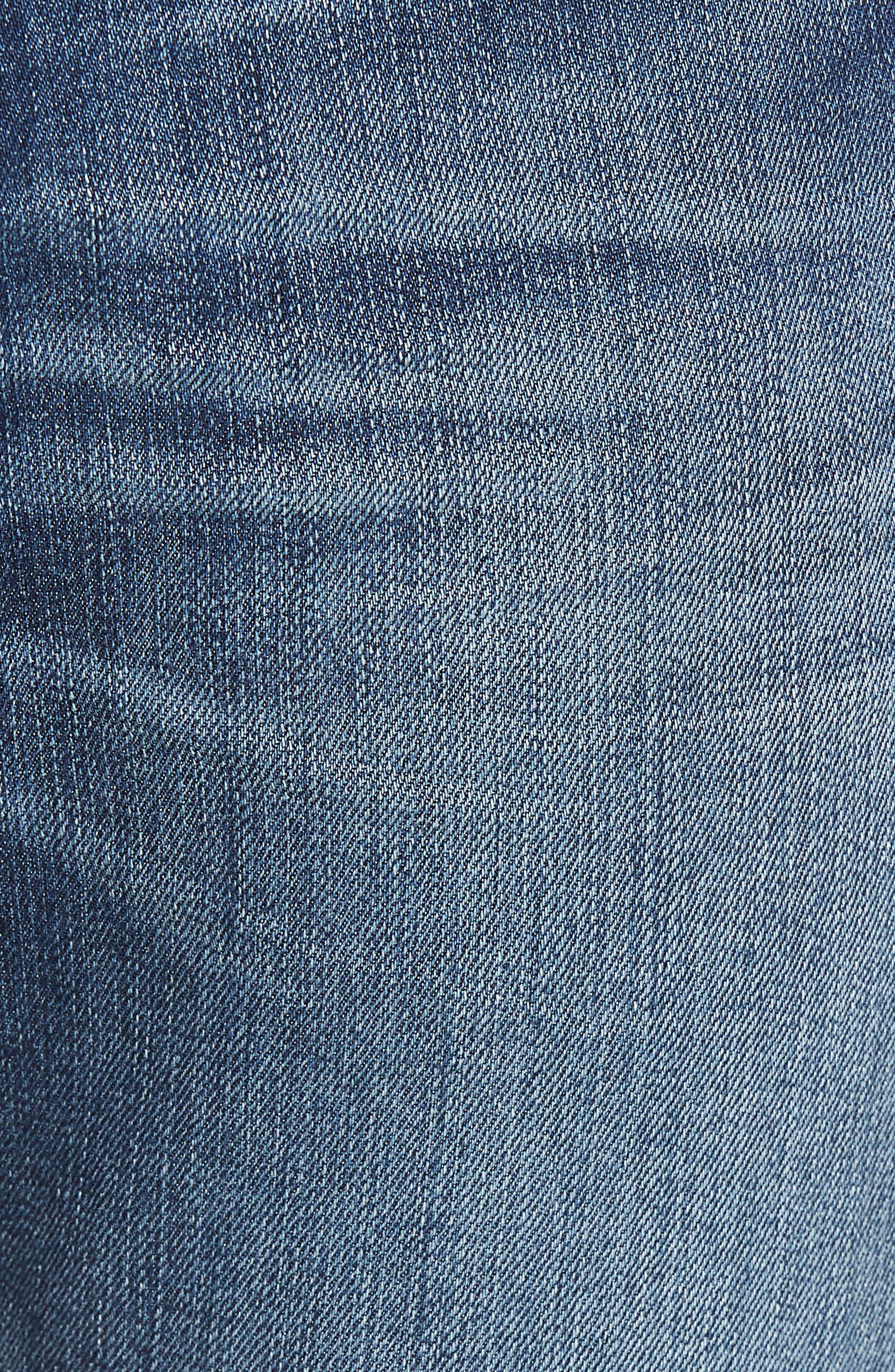 The Straight Slim Straight Leg Jeans,                             Alternate thumbnail 5, color,                             RECON