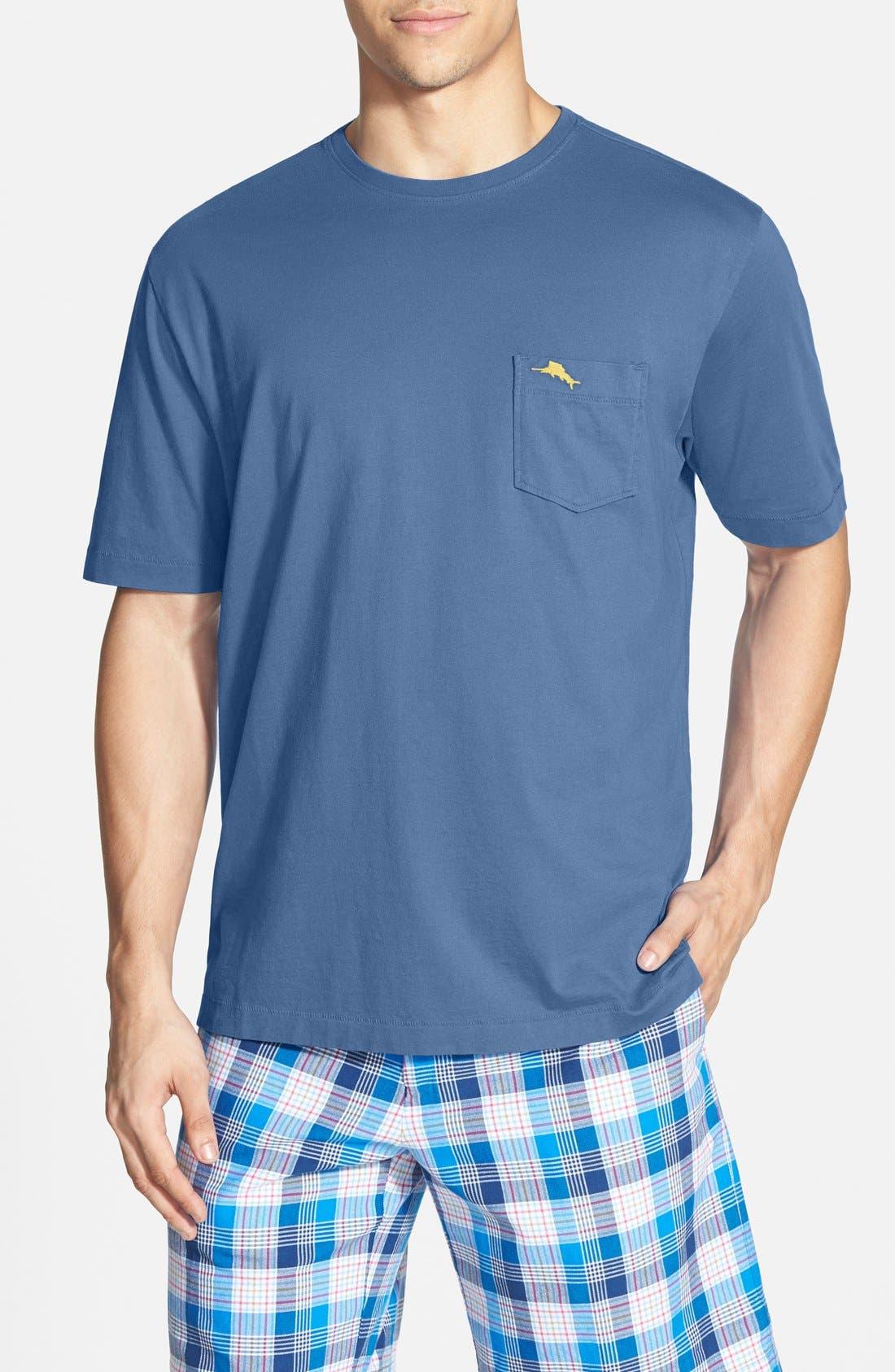 New Bali Sky Pima Cotton Pocket T-Shirt,                             Main thumbnail 19, color,
