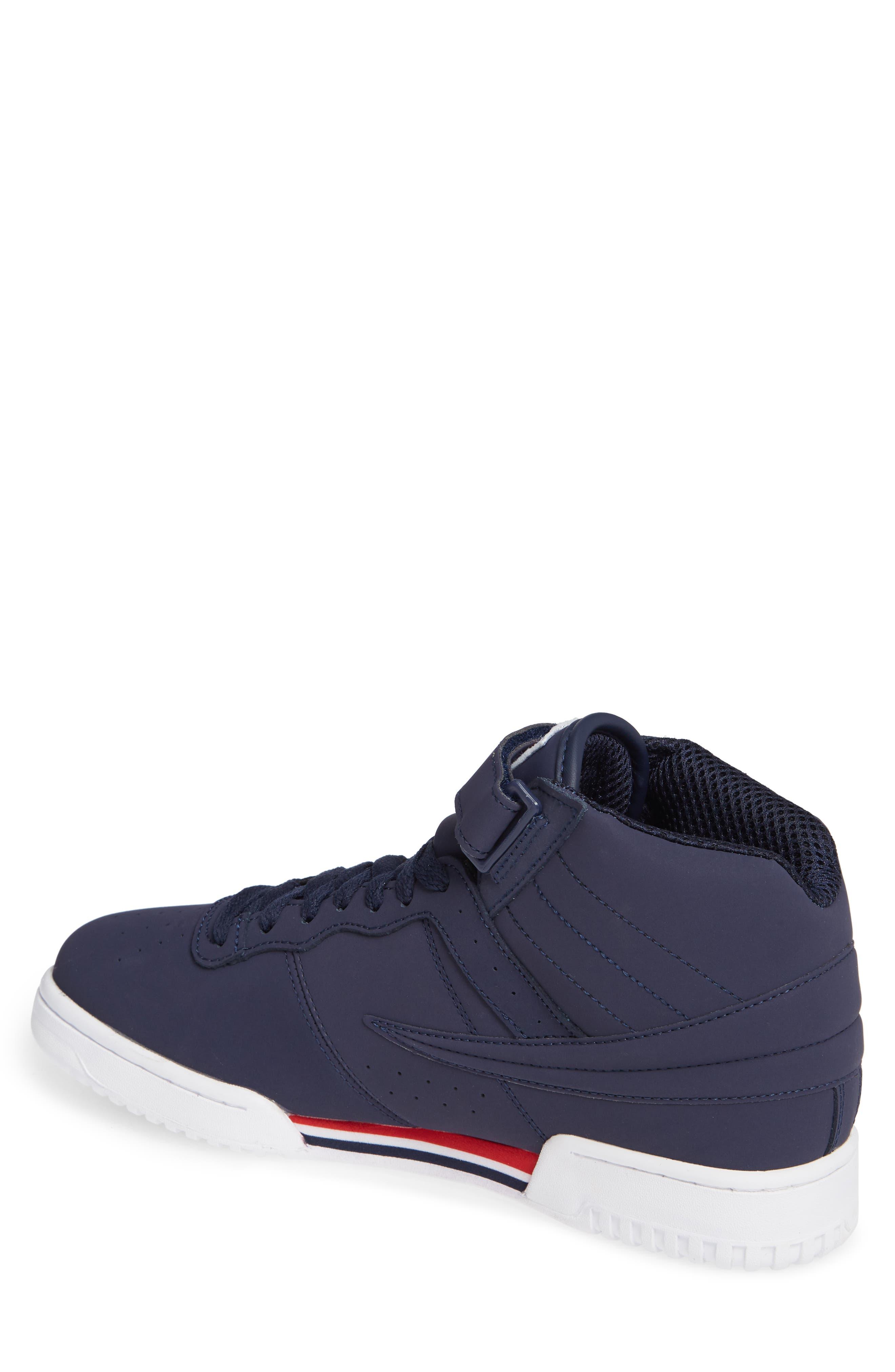 F-13 F-Box Sneaker,                             Alternate thumbnail 2, color,                             NAVY/ WHITE/ RED