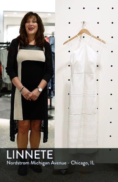 String Halter Eyelet Dress, sales video thumbnail