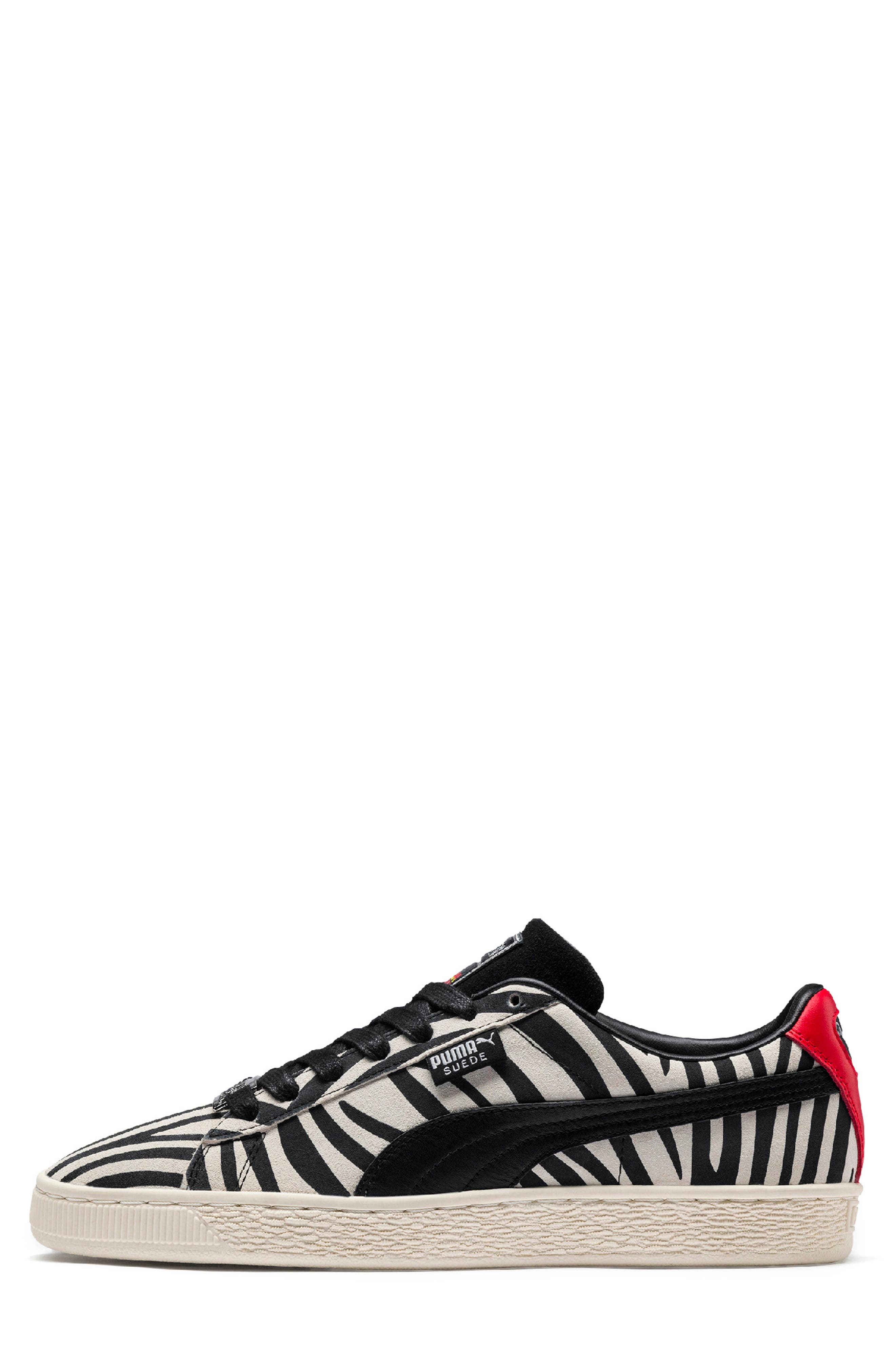 x Paul Stanley Suede Classic Sneaker,                             Alternate thumbnail 6, color,                             100