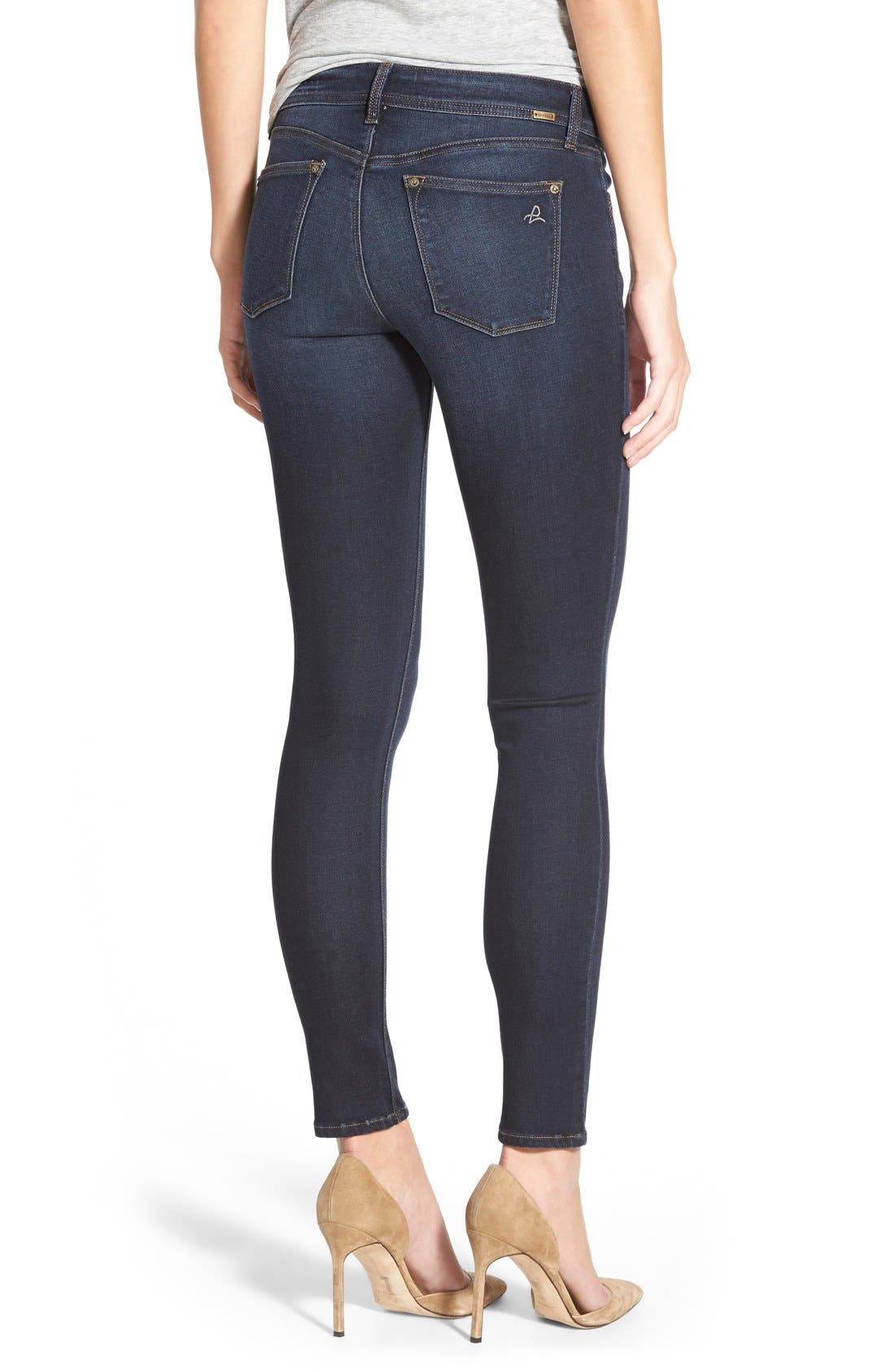 'Emma' Power Legging Jeans,                             Alternate thumbnail 6, color,                             405