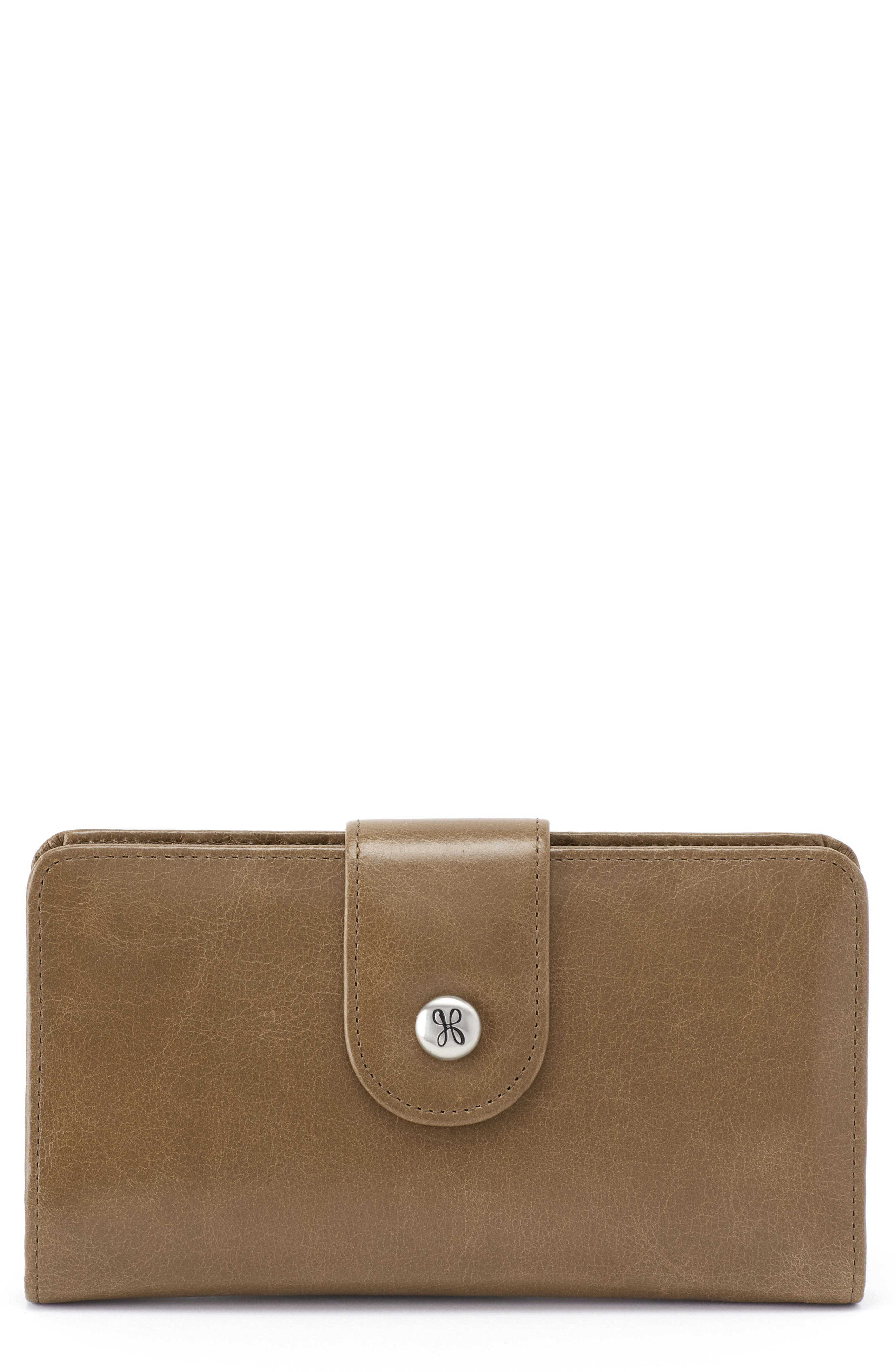 Danette Glazed Continental Wallet,                             Main thumbnail 1, color,                             MINK