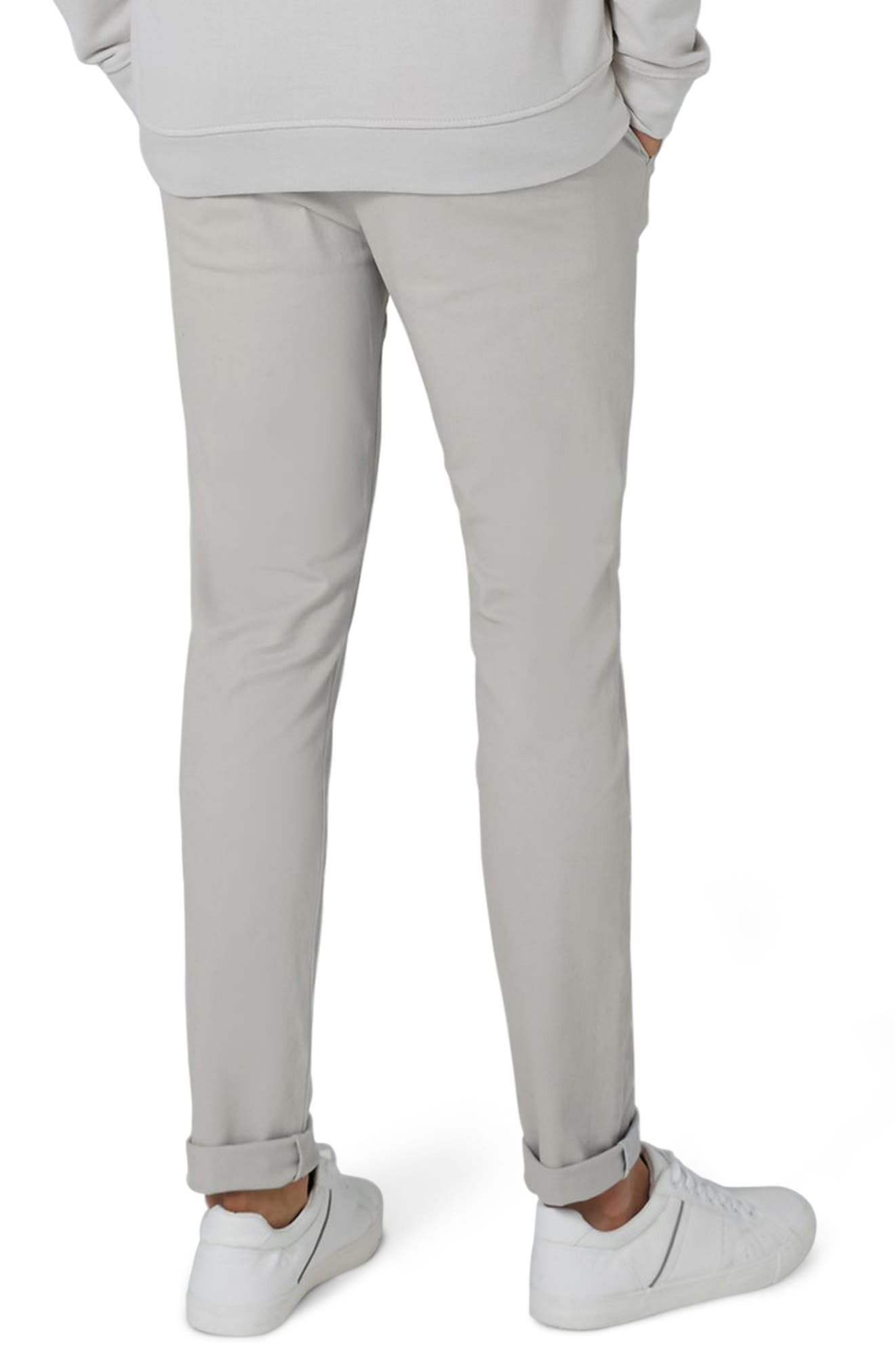 Stretch Skinny Fit Chinos,                             Alternate thumbnail 2, color,                             020
